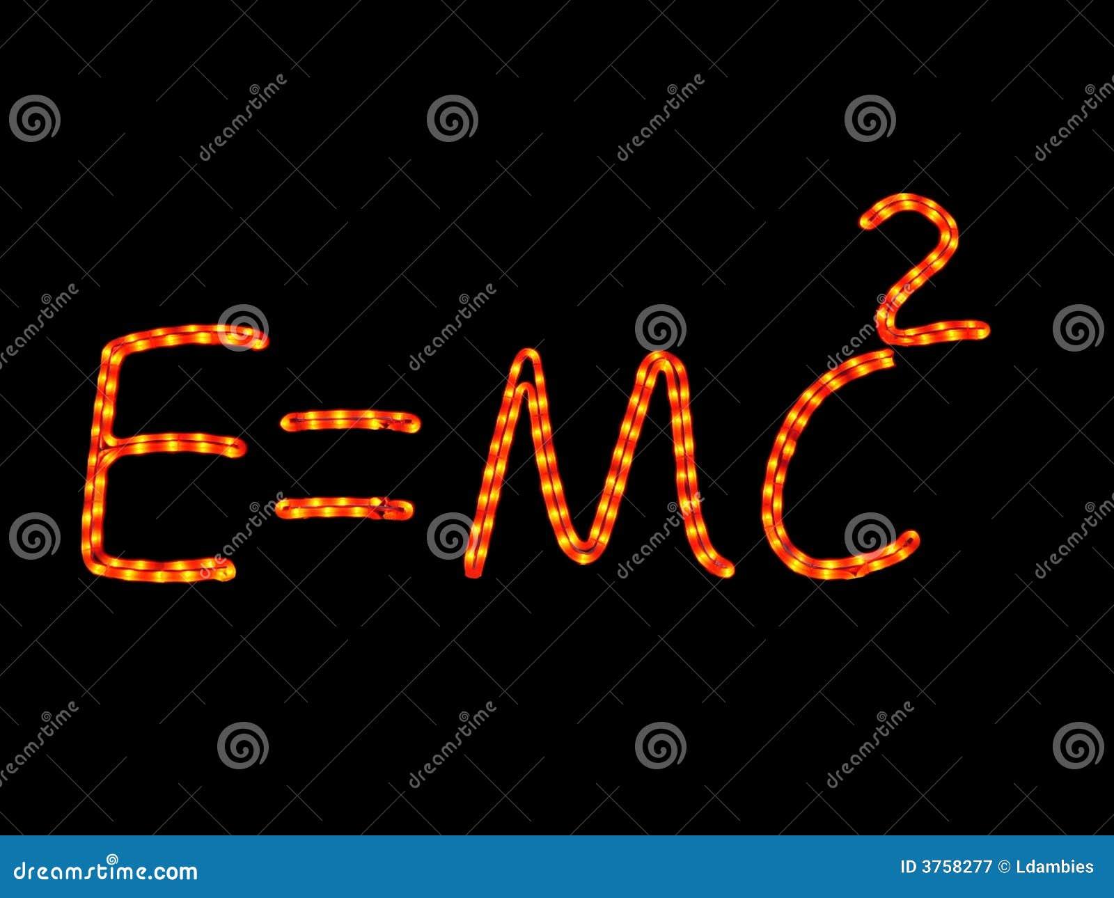 La Física Del Neón De La Ciencia Imagen De Archivo Imagen