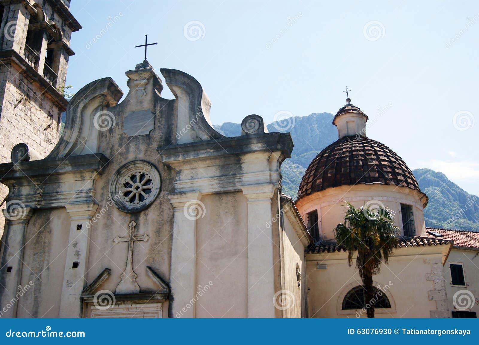Download La Façade De L'église De St Matthew Photo stock - Image du churchly, montenegro: 63076930