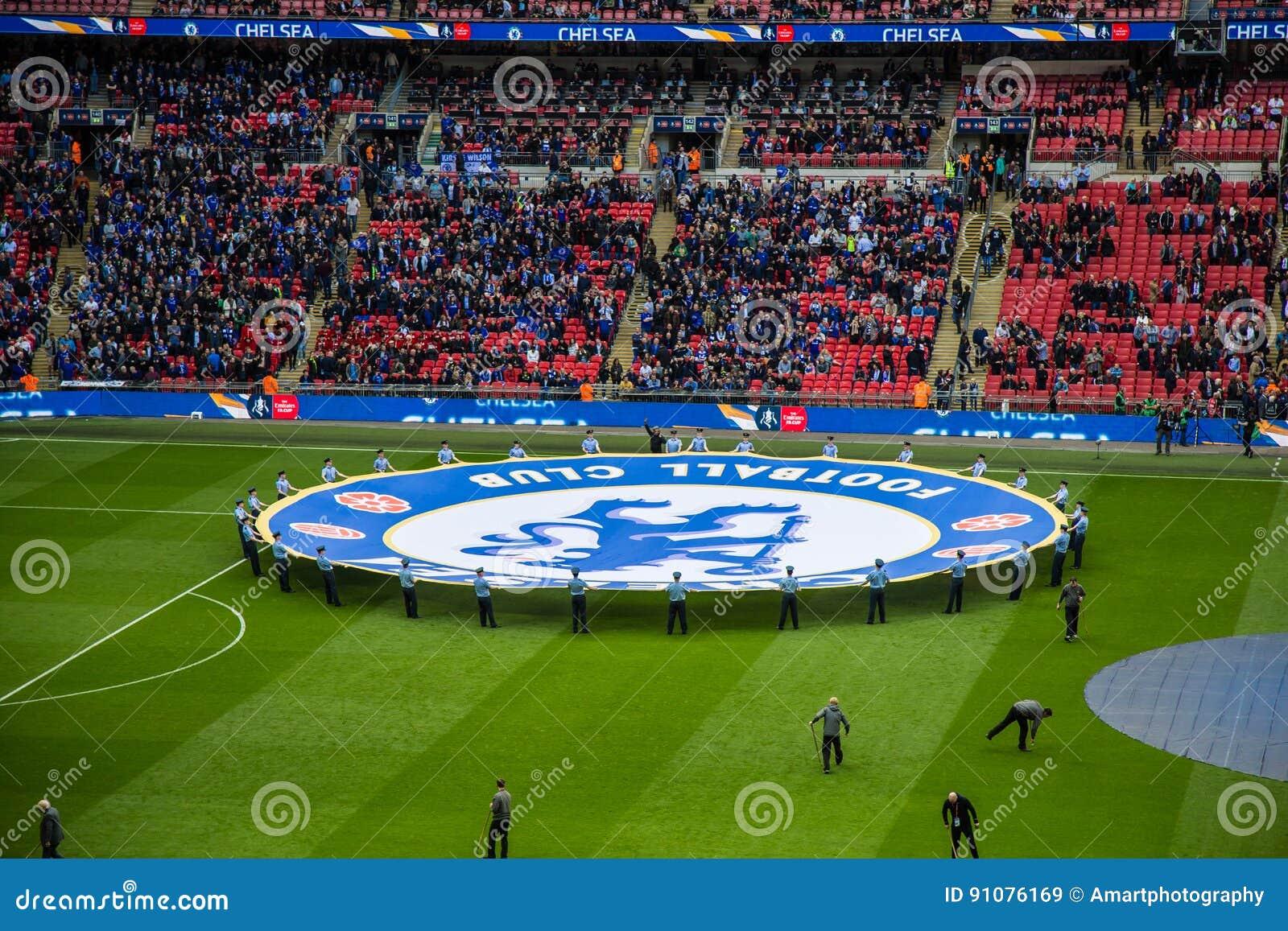 La FA CUP Chelsea Semi-finale v Tottenham