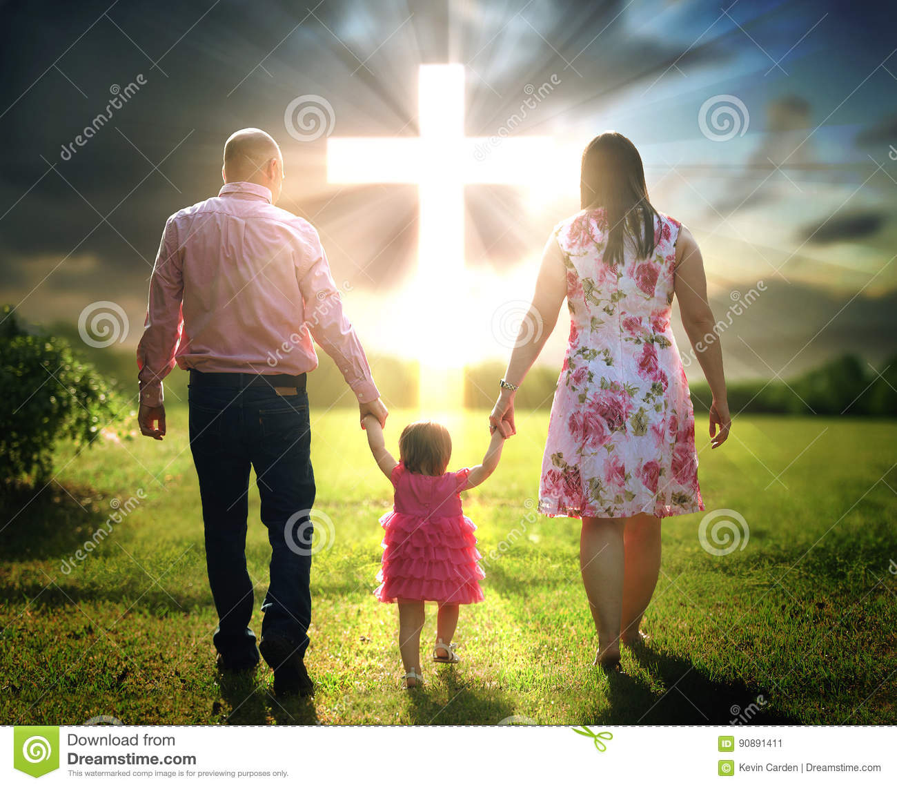 familia cristiana stock photos royalty free stock images