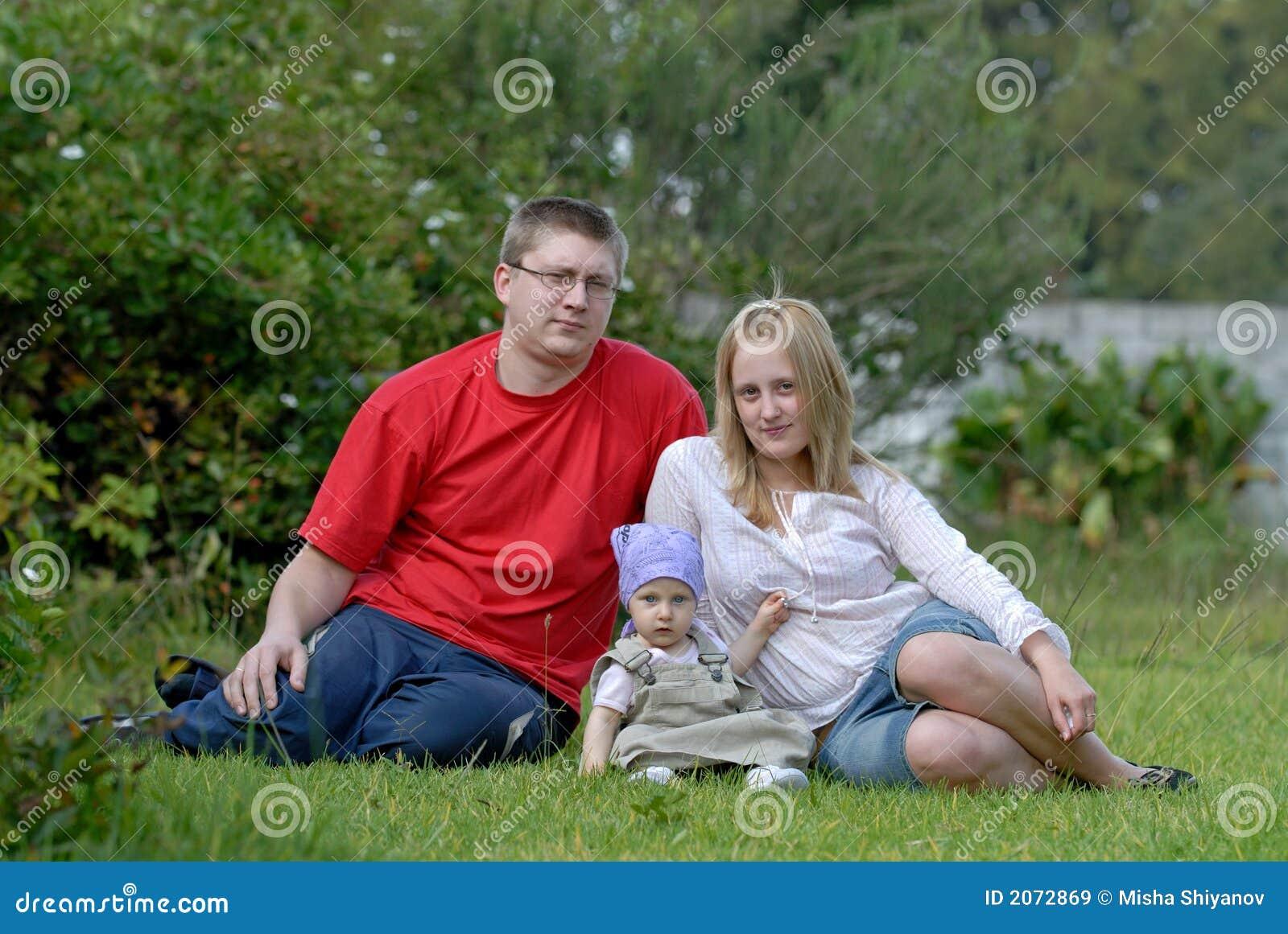 La famille heureuse