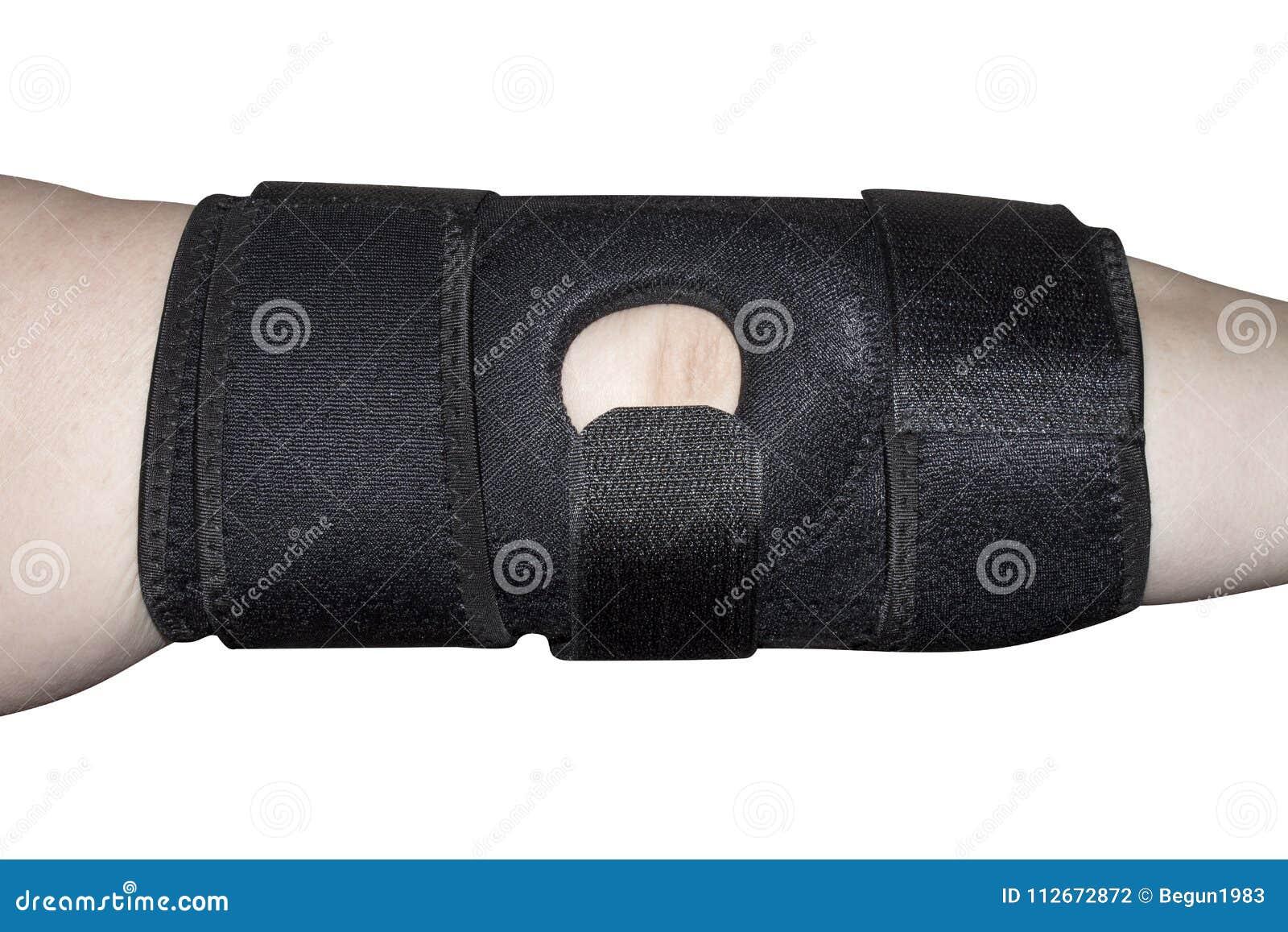 La fasciatura sul gomito dopo dislocazione