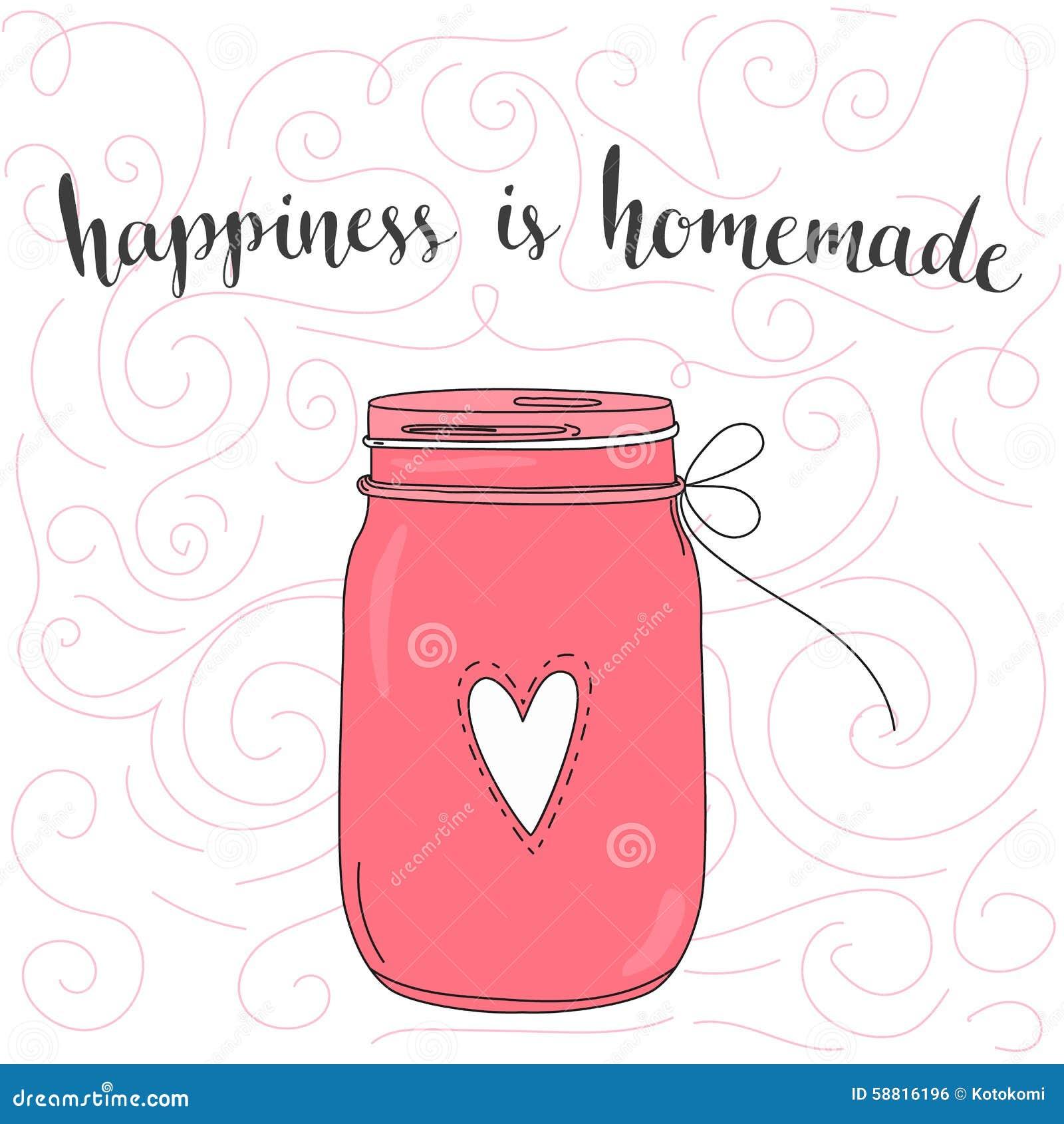 La felicidad es hecha en casa Cita inspirada