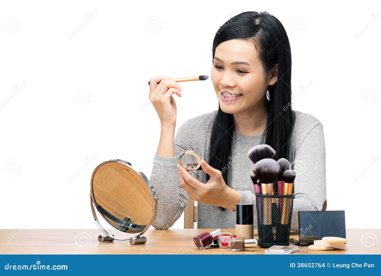 La femme de l Asie composent