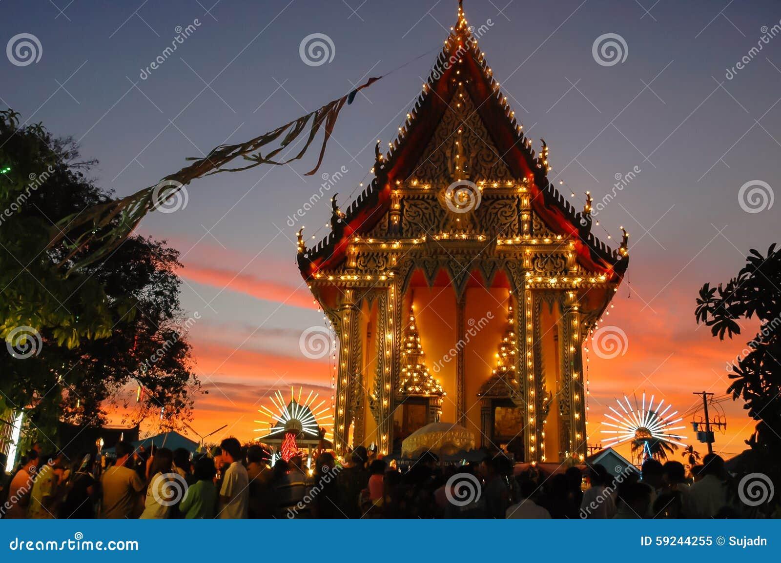 Download La Feria Del Templo Es Una Tradición Anual Imagen editorial - Imagen de diversión, noche: 59244255