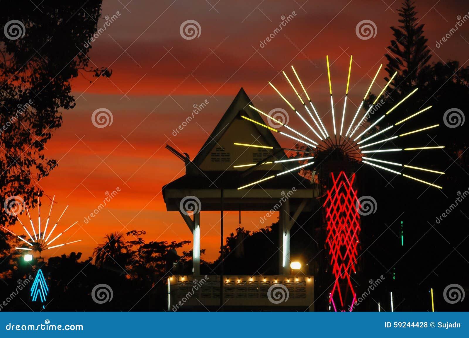 La feria del templo es una tradición anual