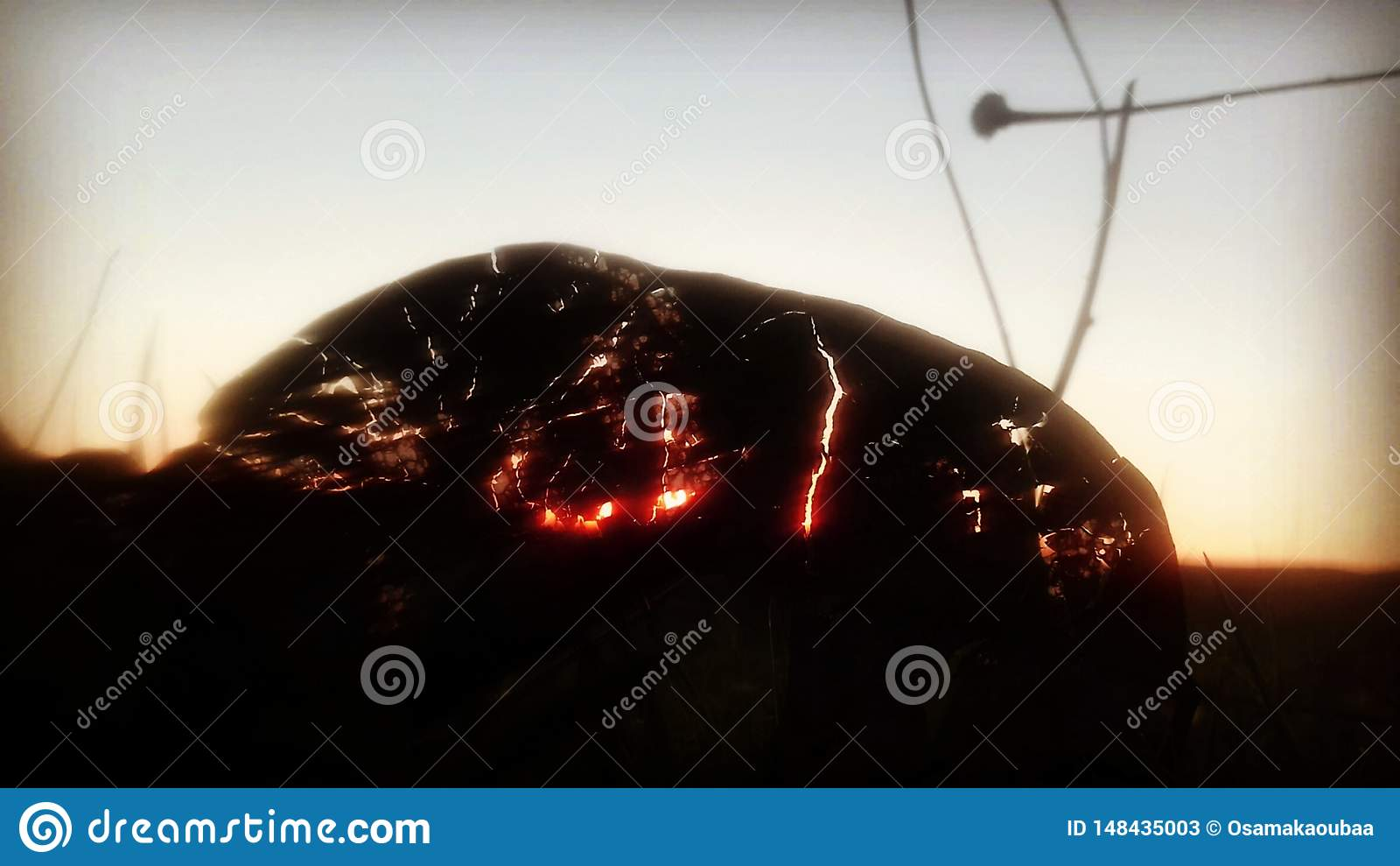 La feuille de volcan