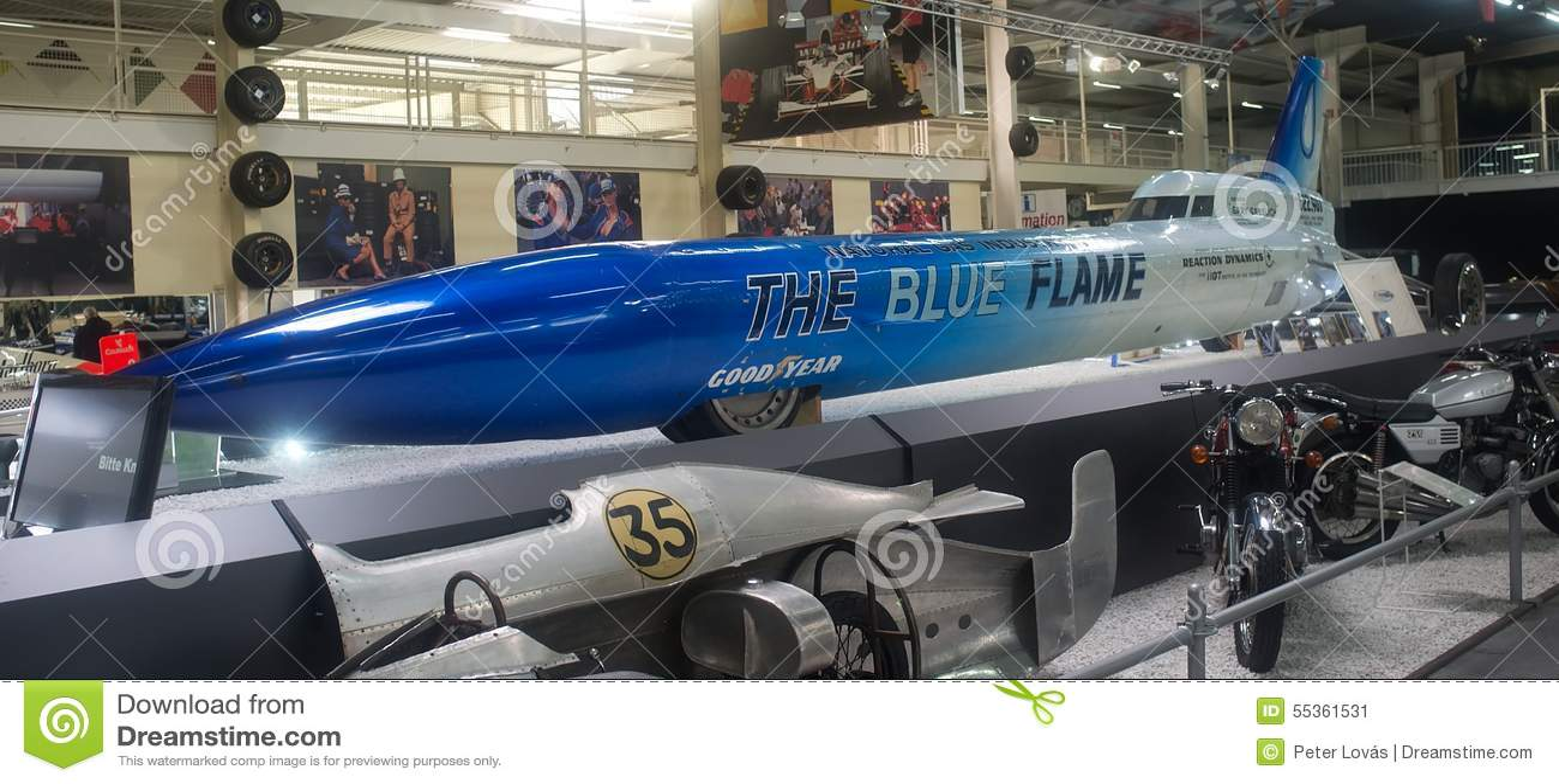 La fiamma blu - museo Sinsheim