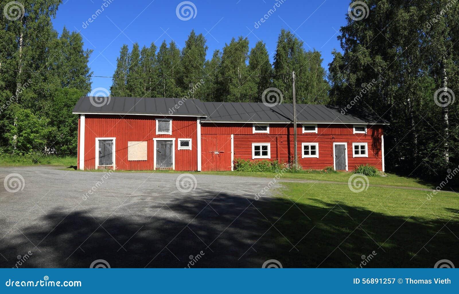 La Finlandia, Savonia/Kuopio: Architettura finlandese - azienda agricola/granaio storici (1860)