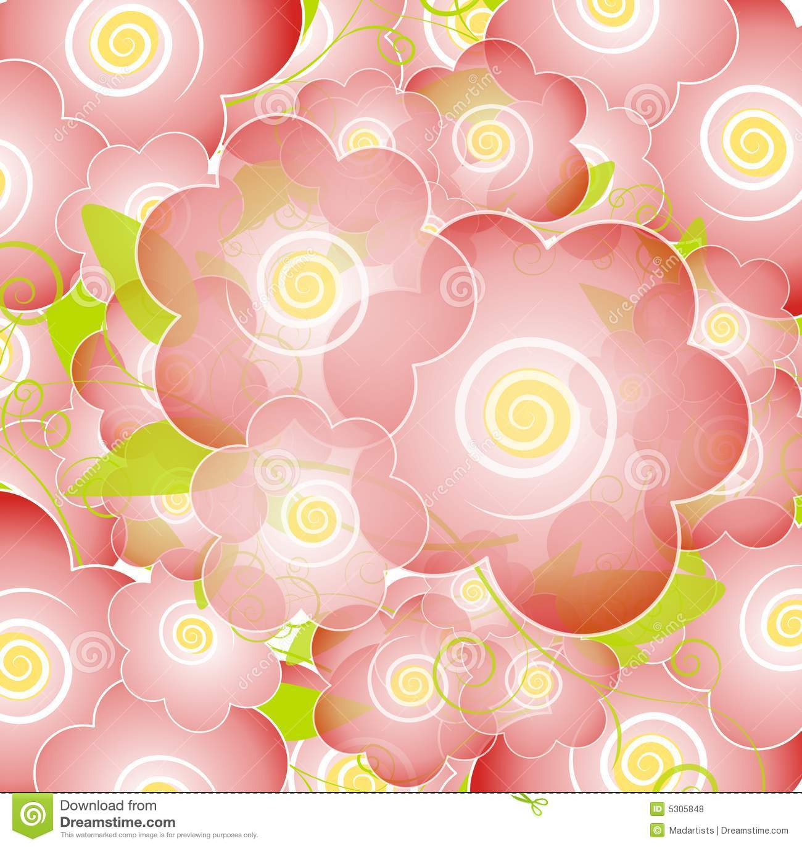 La flor rosa clara florece fondo