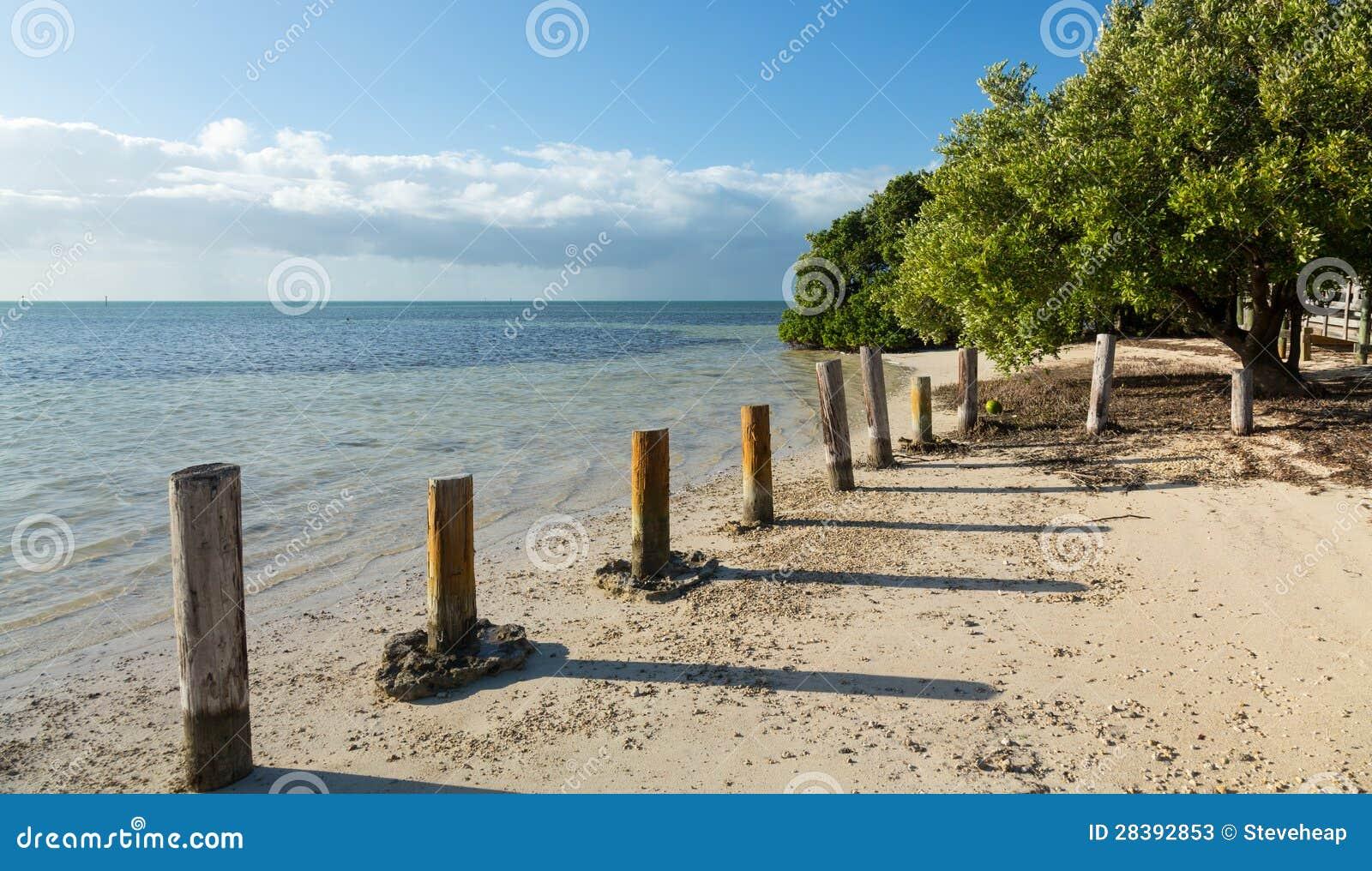 La Florida cierra la playa de Anne