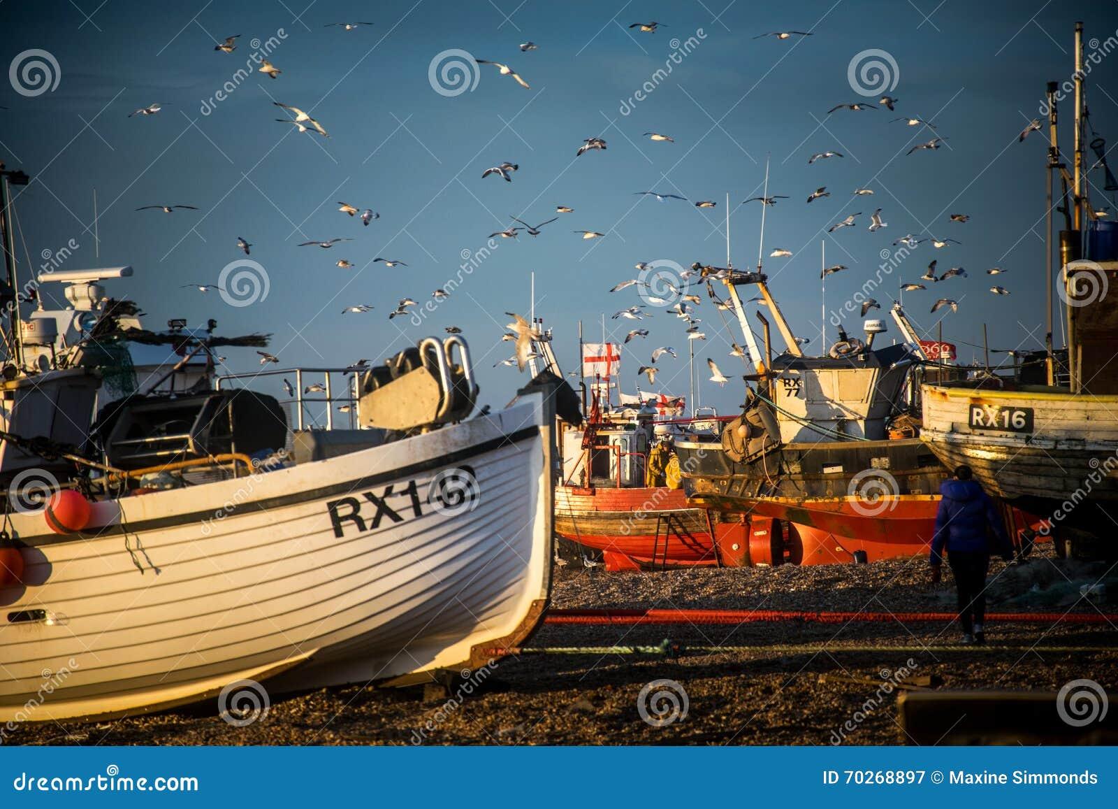 La flota pesquera de Hastings