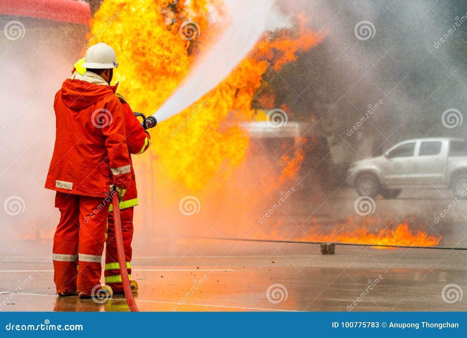 La formation du sapeur-pompier pompier