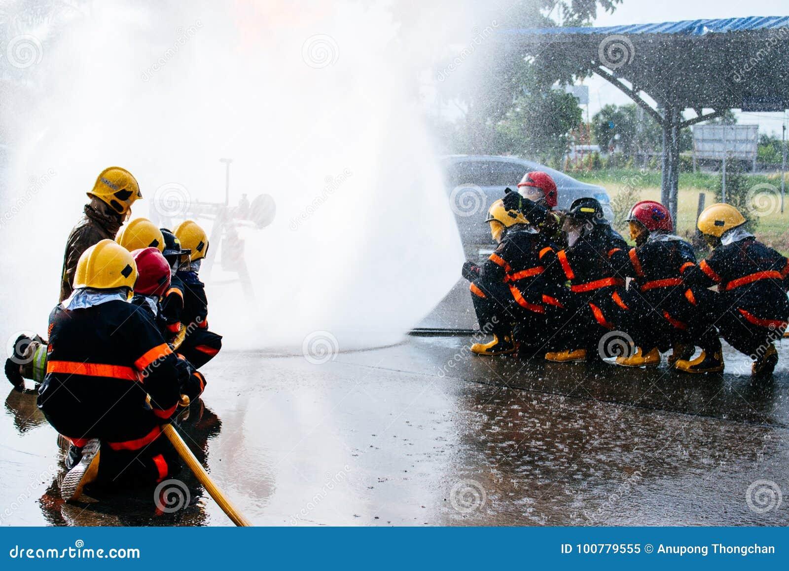 La formation du sapeur-pompier