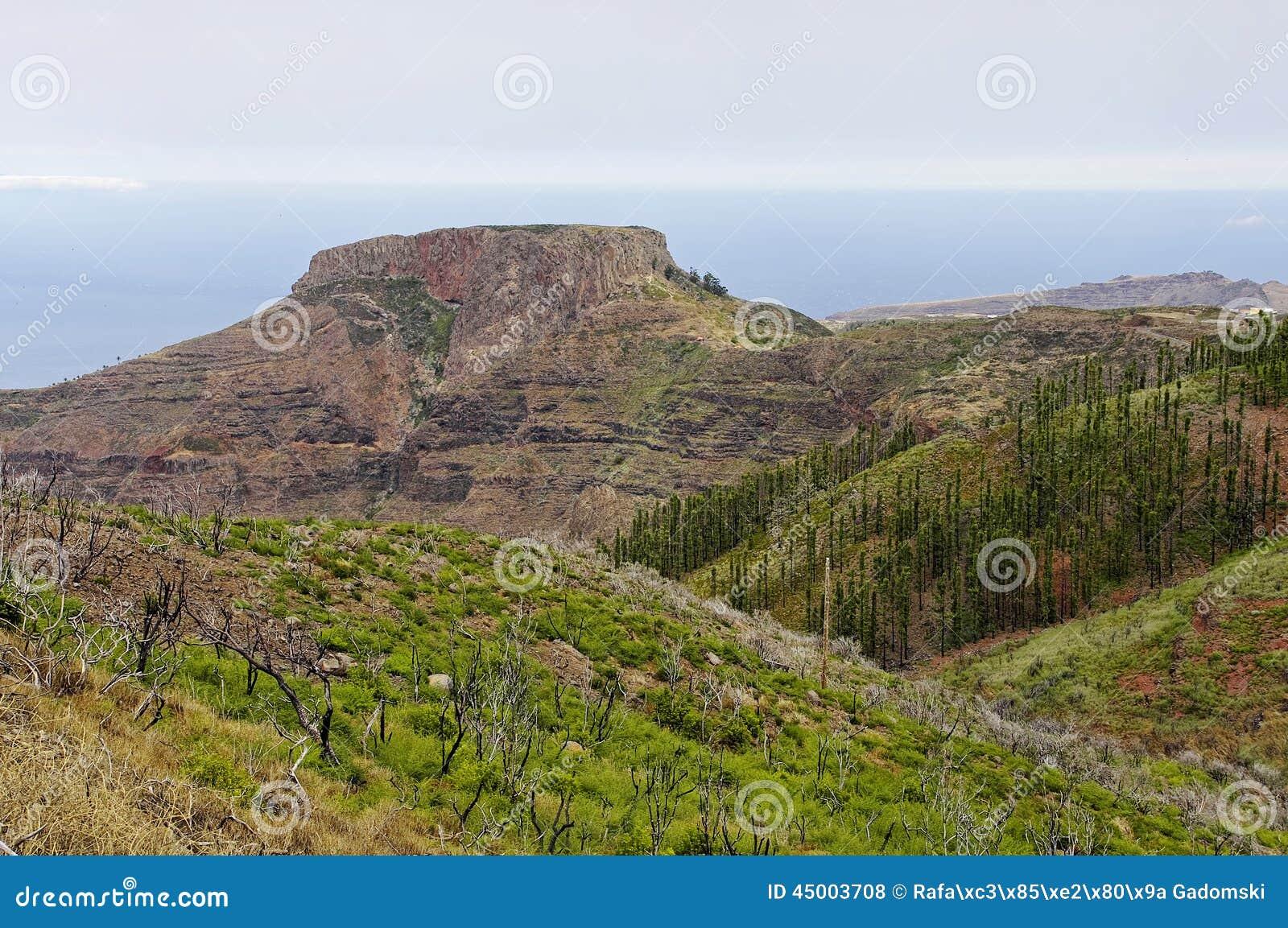 La Fortaleza de Chipude, La Gomera