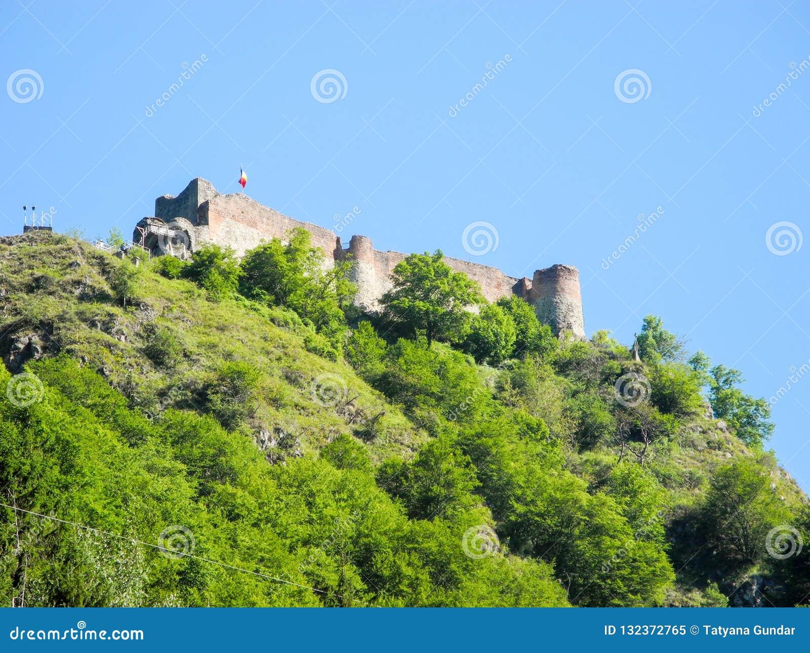 La forteresse de Poenari