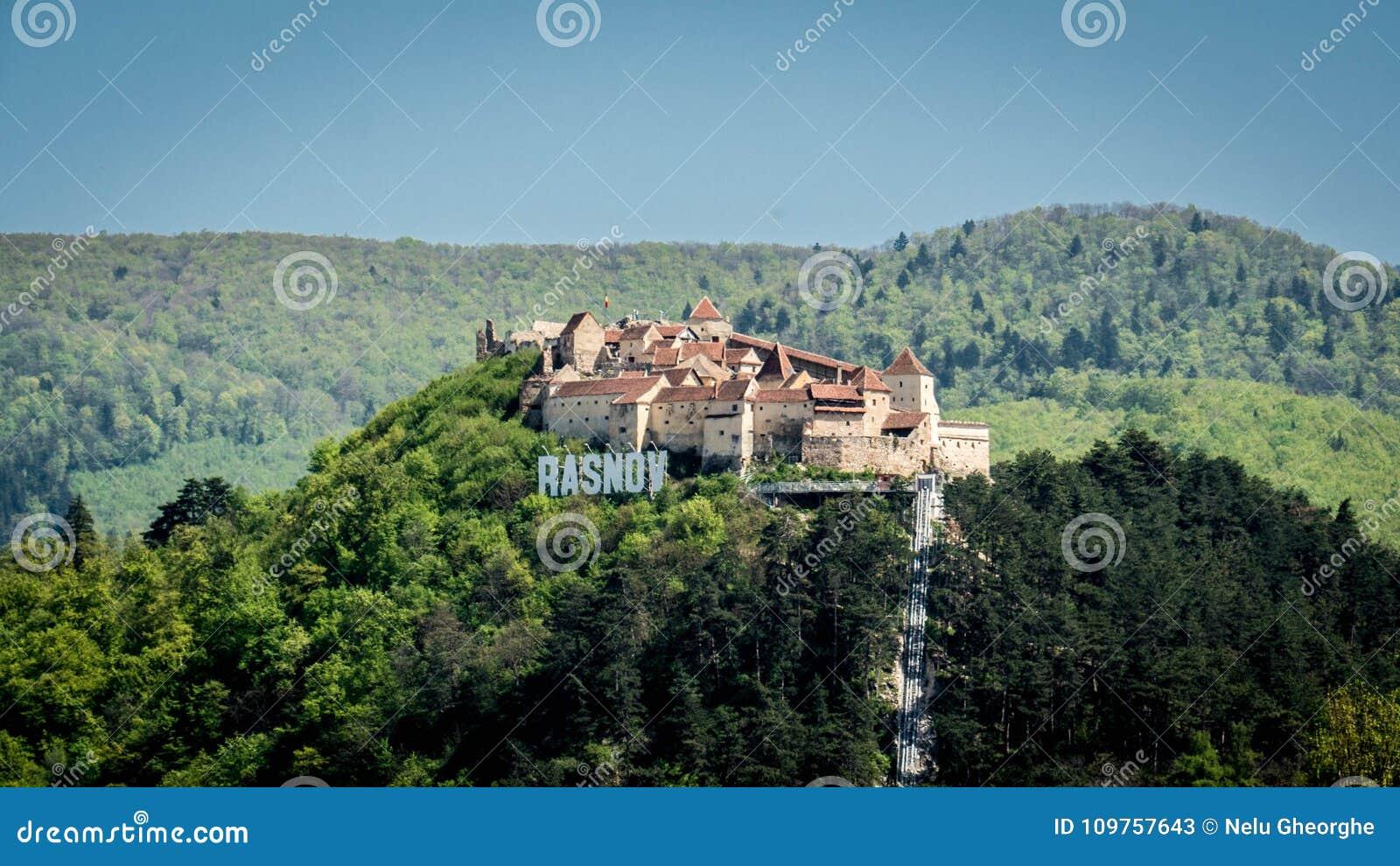 La forteresse de Rasnov, Roumanie