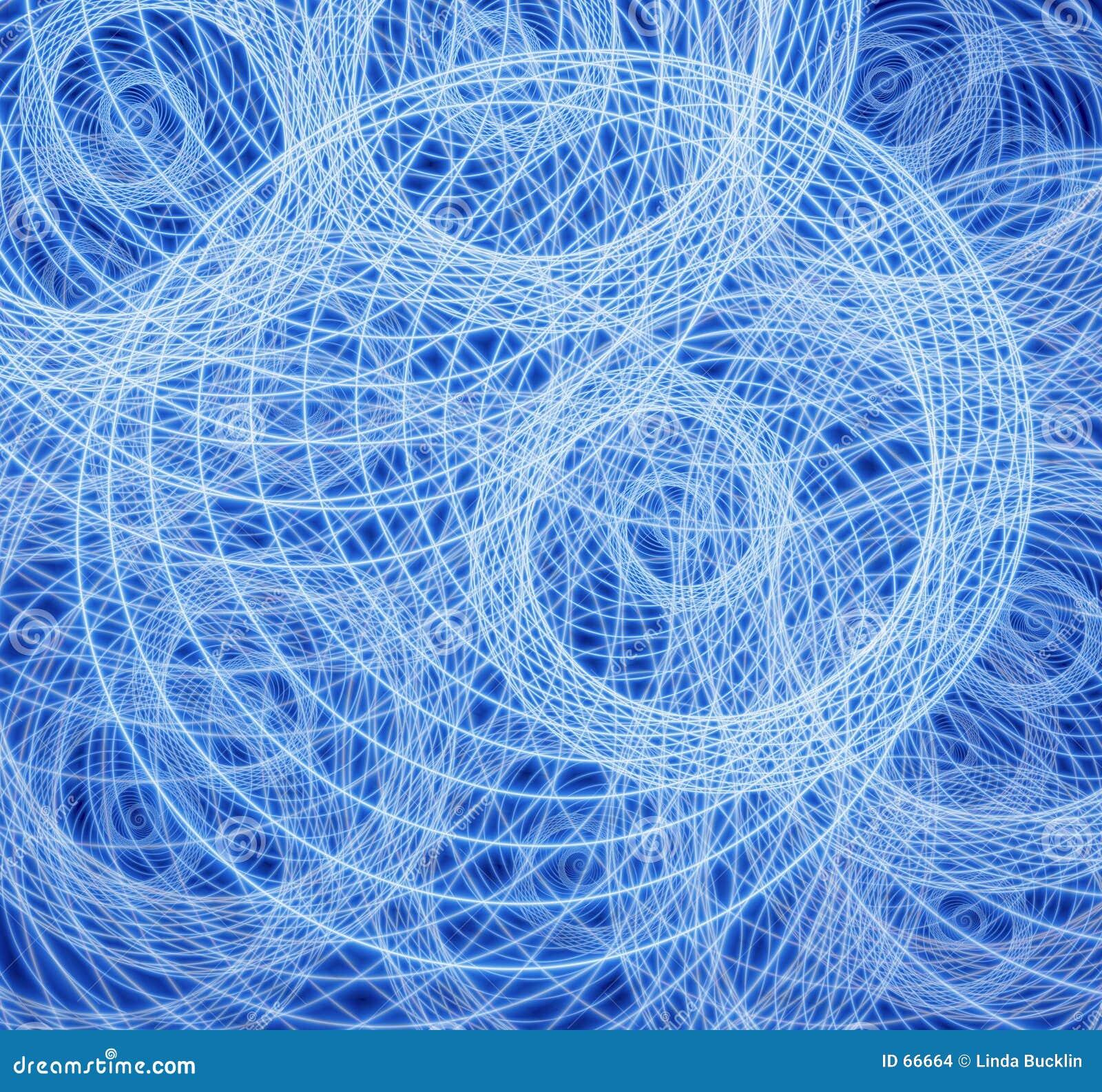 La fractale se développe en spirales configuration