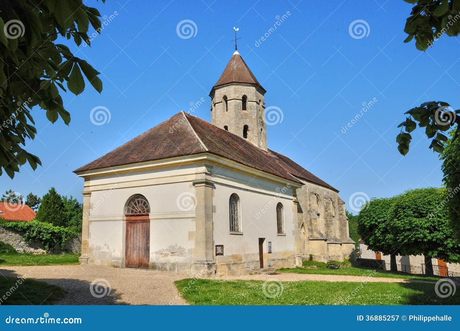 Download La Francia, Il Villaggio Di Condecourt In Val D Oise Immagine Stock - Immagine di esterno, france: 36885257