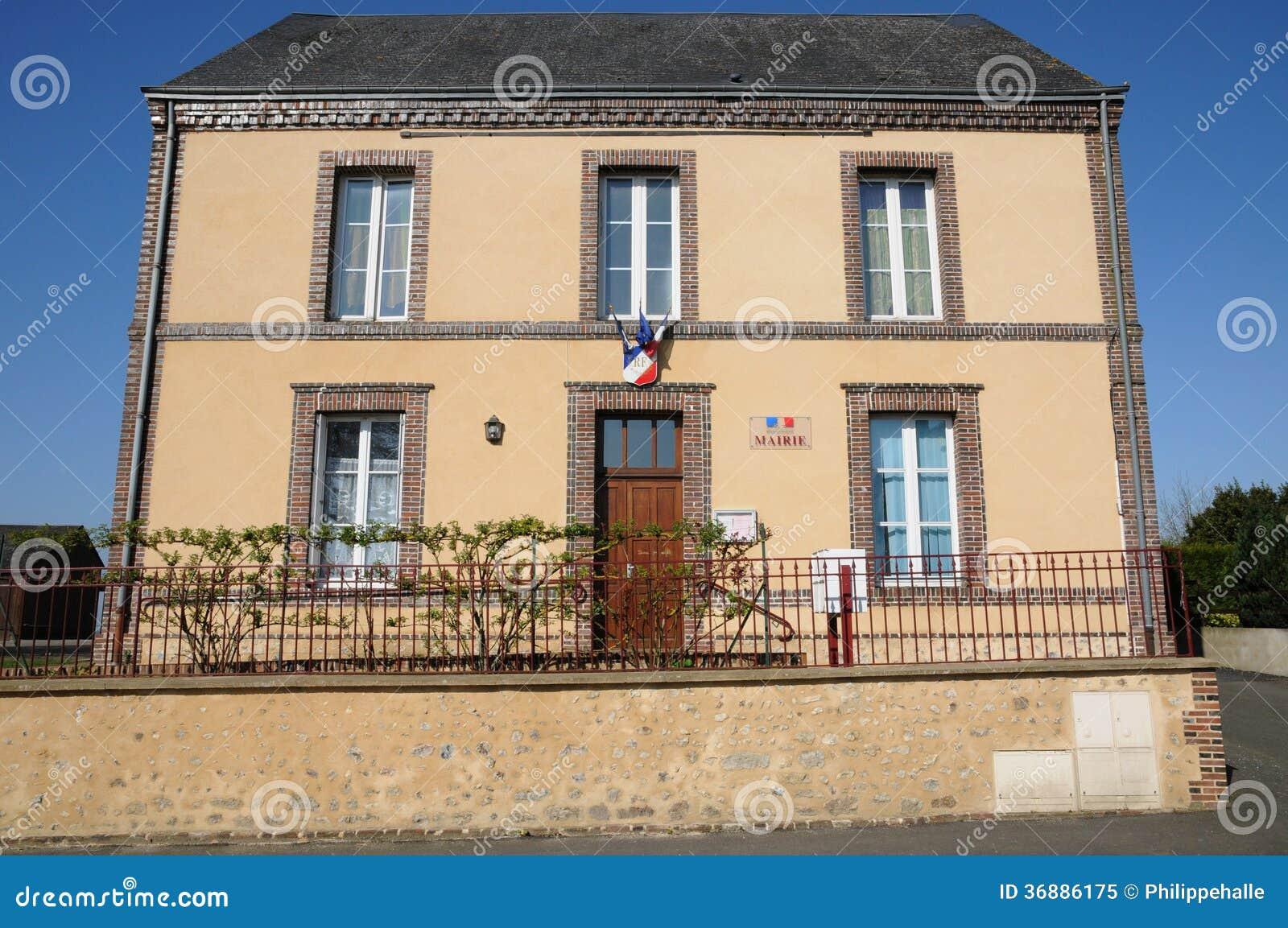 Download La Francia, Villaggio Pittoresco Di Lignerolles Immagine Stock - Immagine di picturesque, touristy: 36886175
