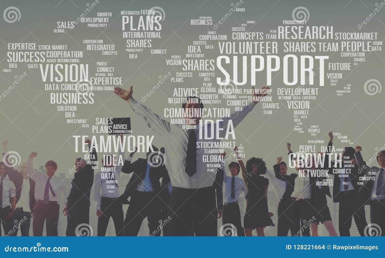 La future croissance d idées de future expertise volontaire prévoit le concept