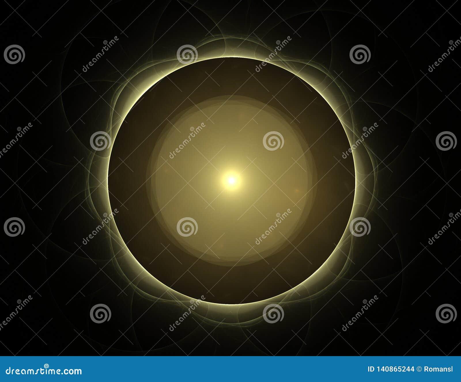 La géométrie de la série de l espace Contexte visuellement attrayant fait de courbes conceptuelles de grilles et éléments de frac