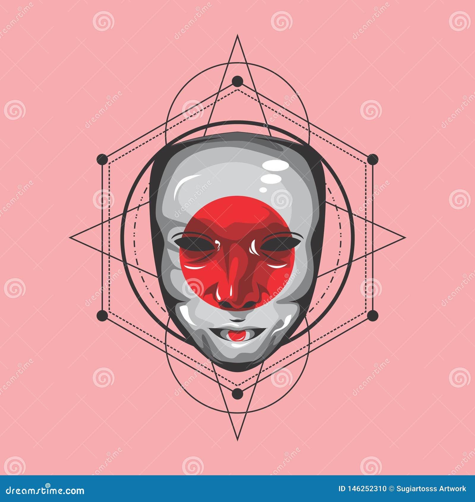 La géométrie sacrée de geisha