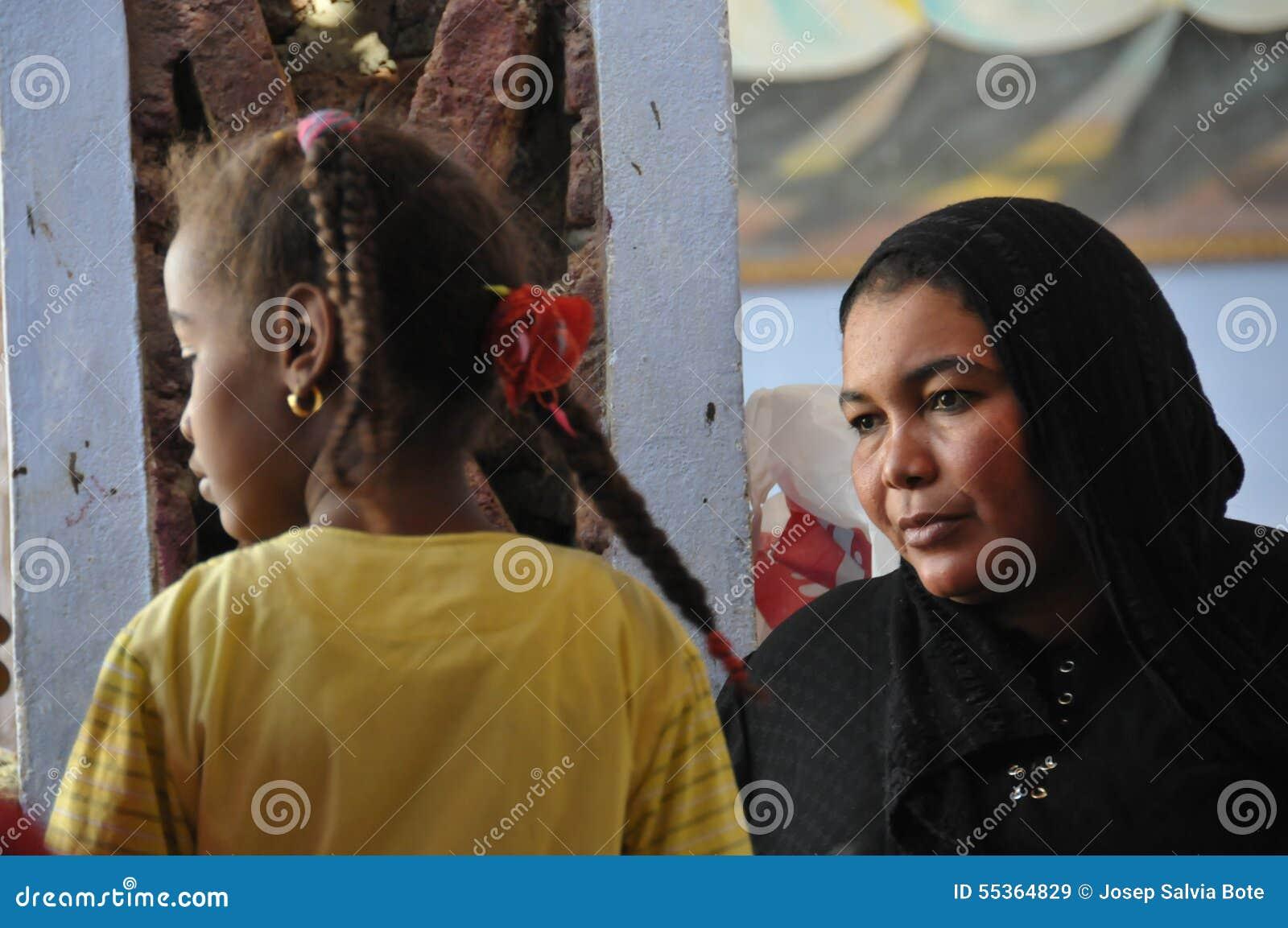 La gente di Nubian