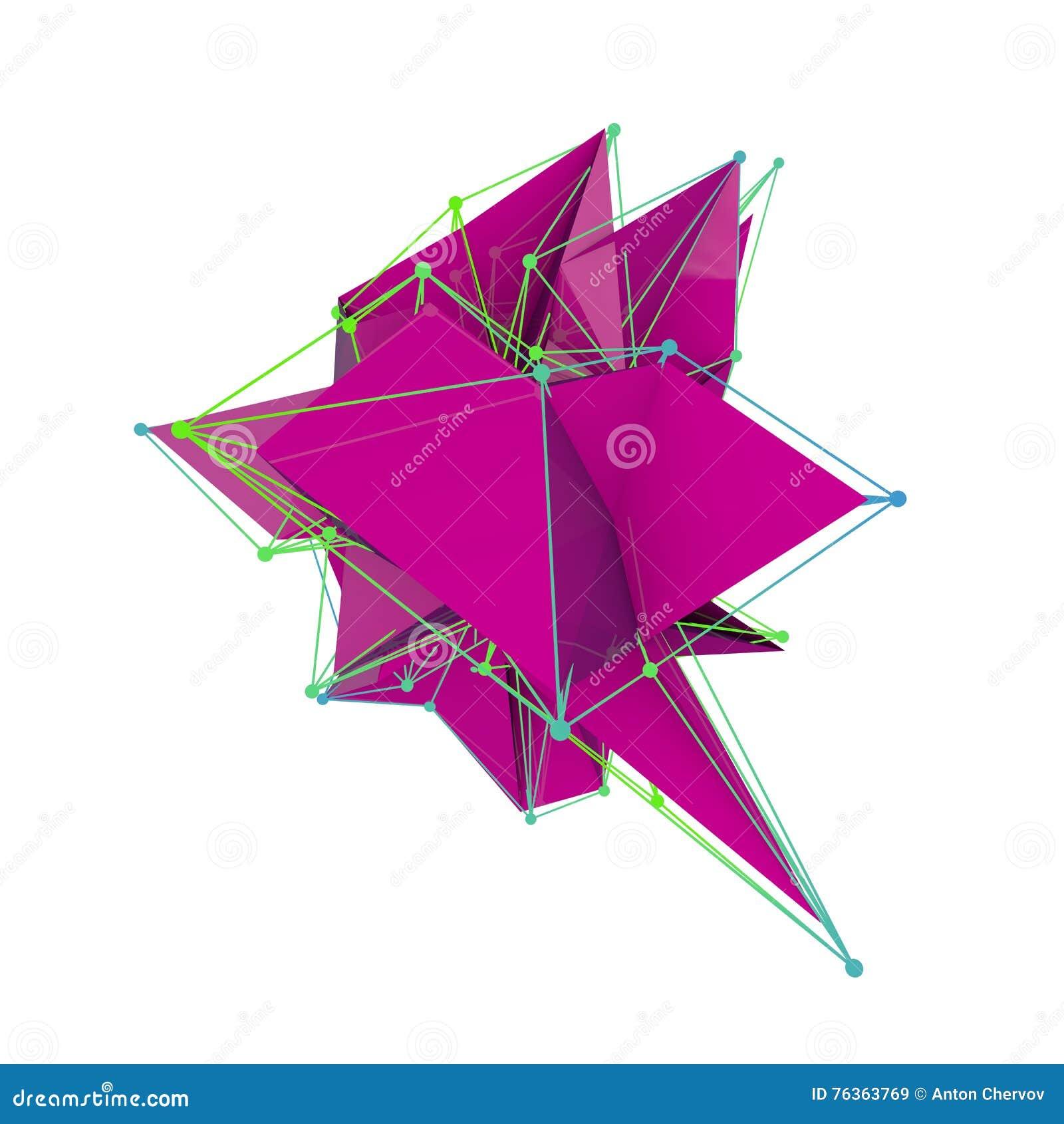 La geometria bassa del poligono