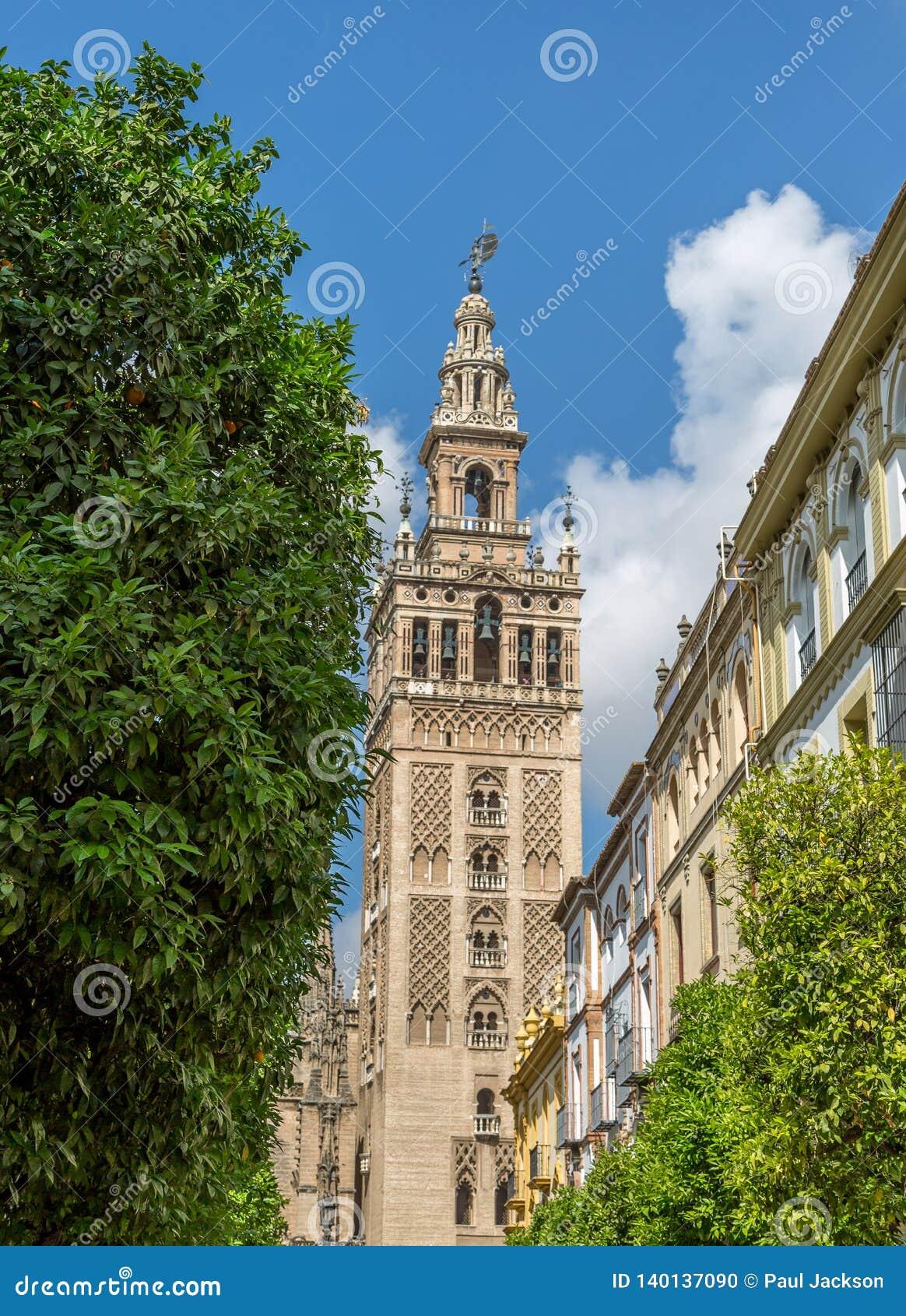 La Giralda en Sevilla, España