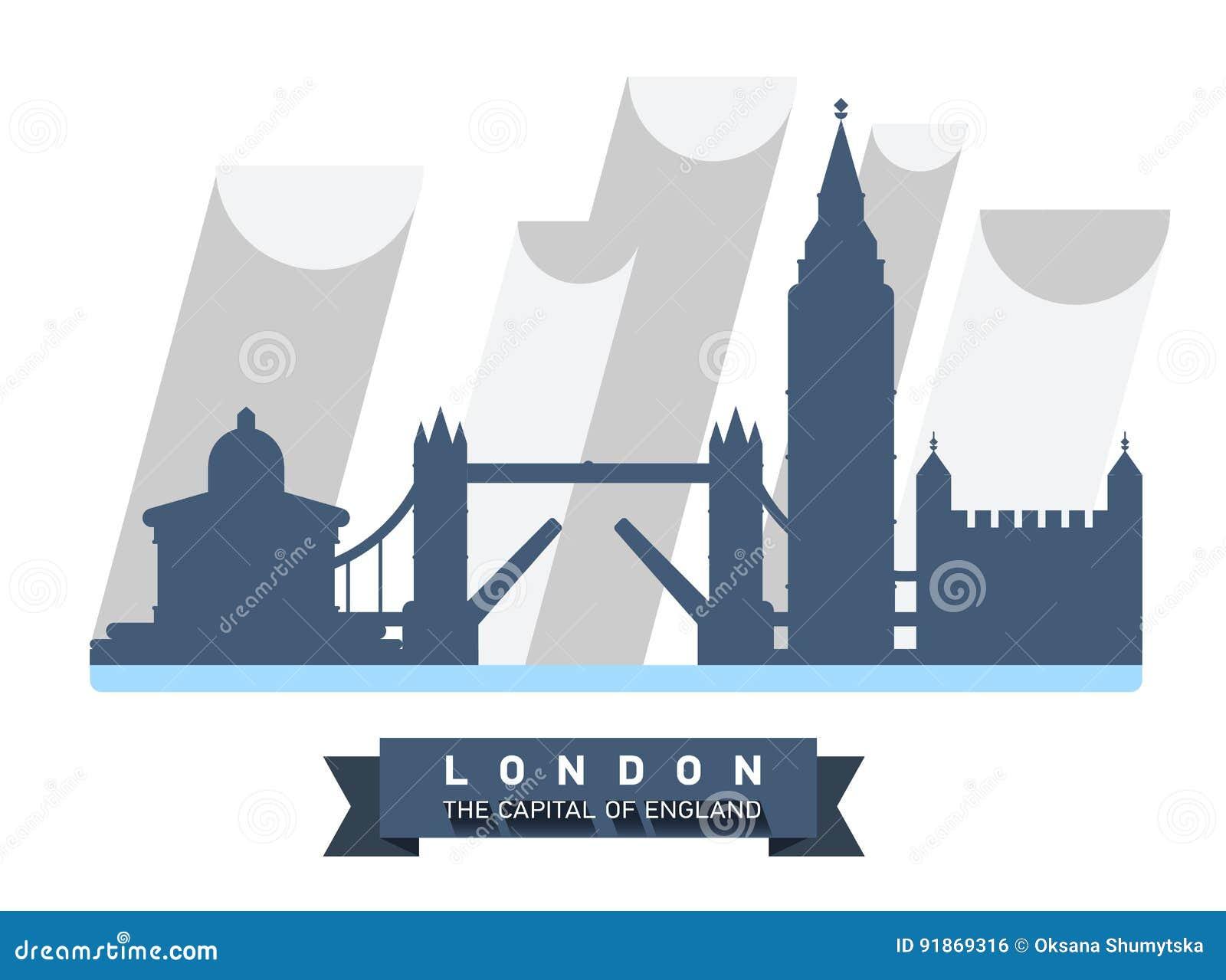 La Grande Bretagne Langleterre Panorama De Londres