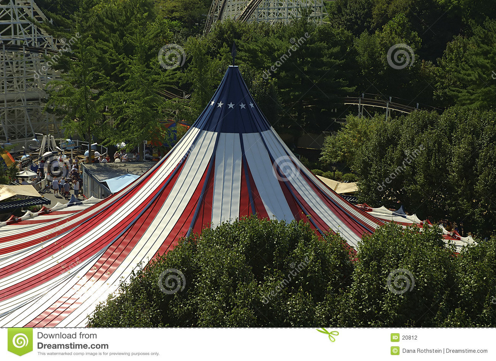 La grande tente