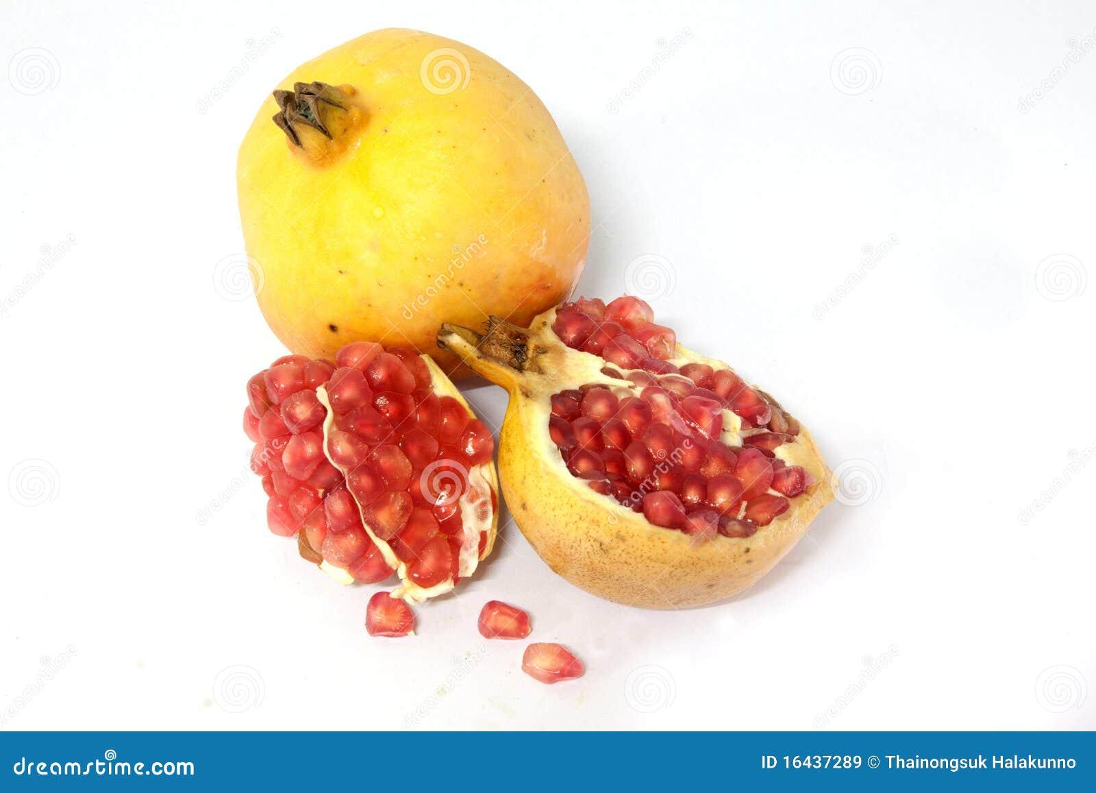 la grenade porte des fruits jaune images libres de droits image 16437289. Black Bedroom Furniture Sets. Home Design Ideas