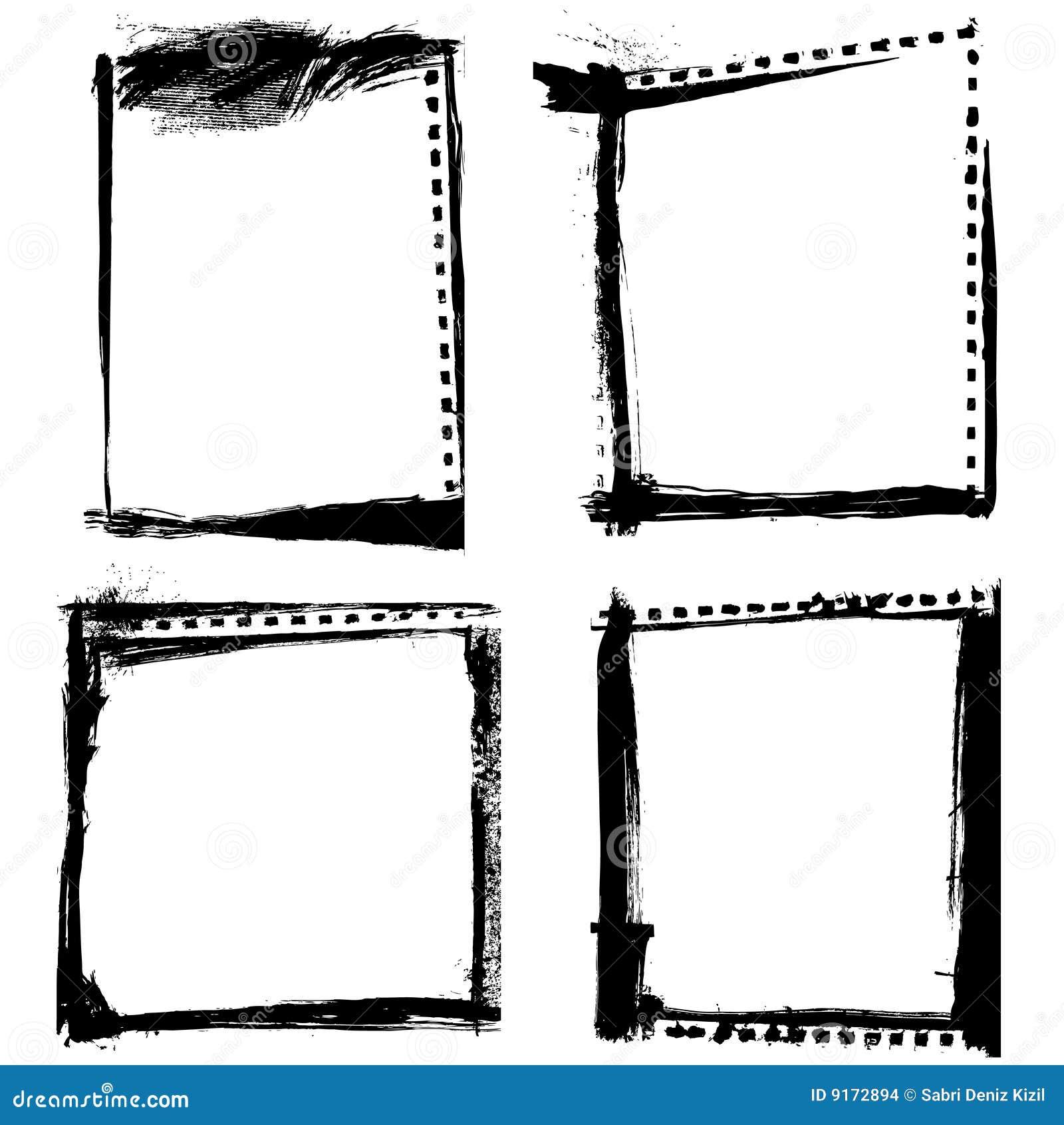 Paint Frames White