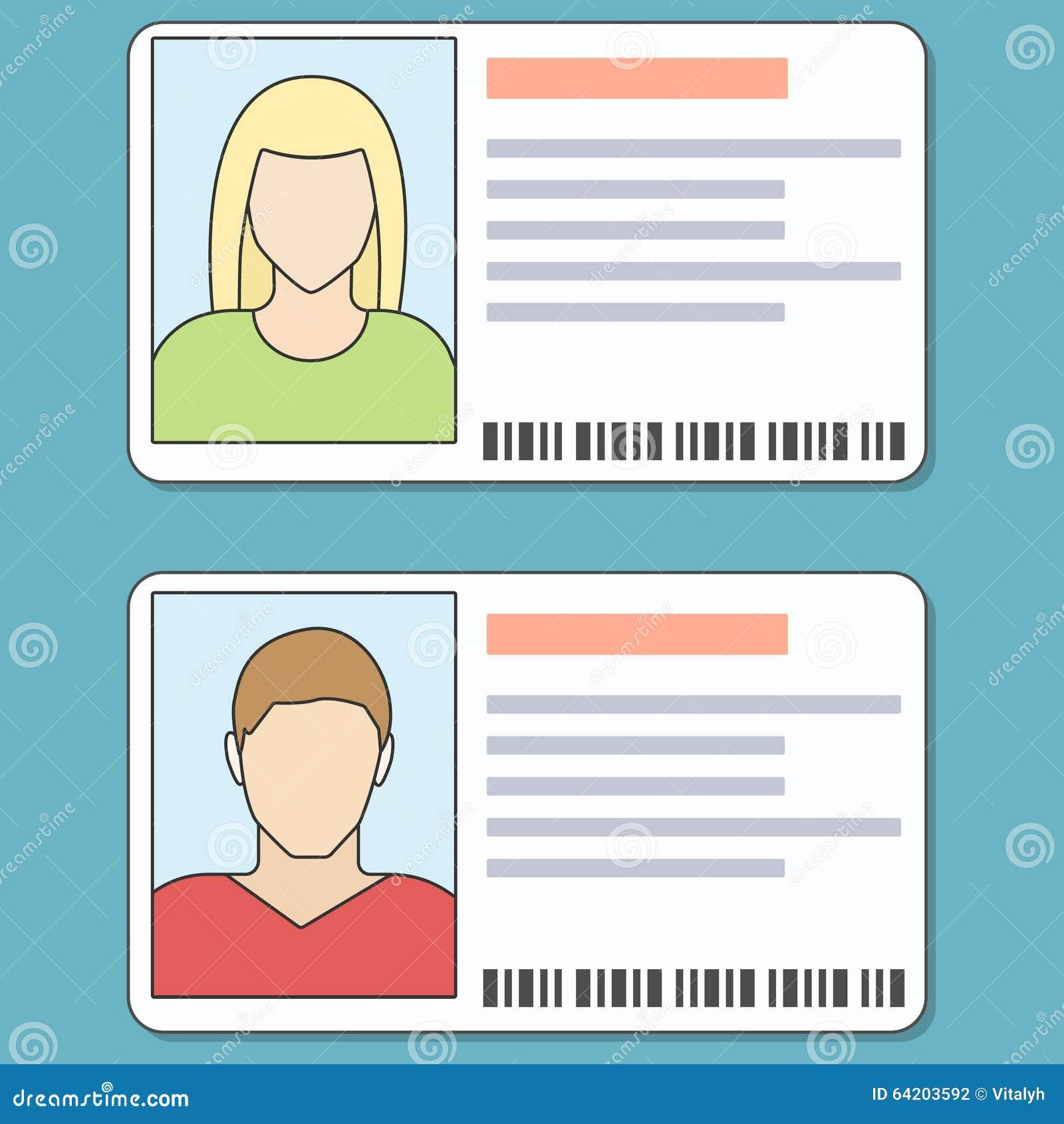 La identificación carda el ejemplo