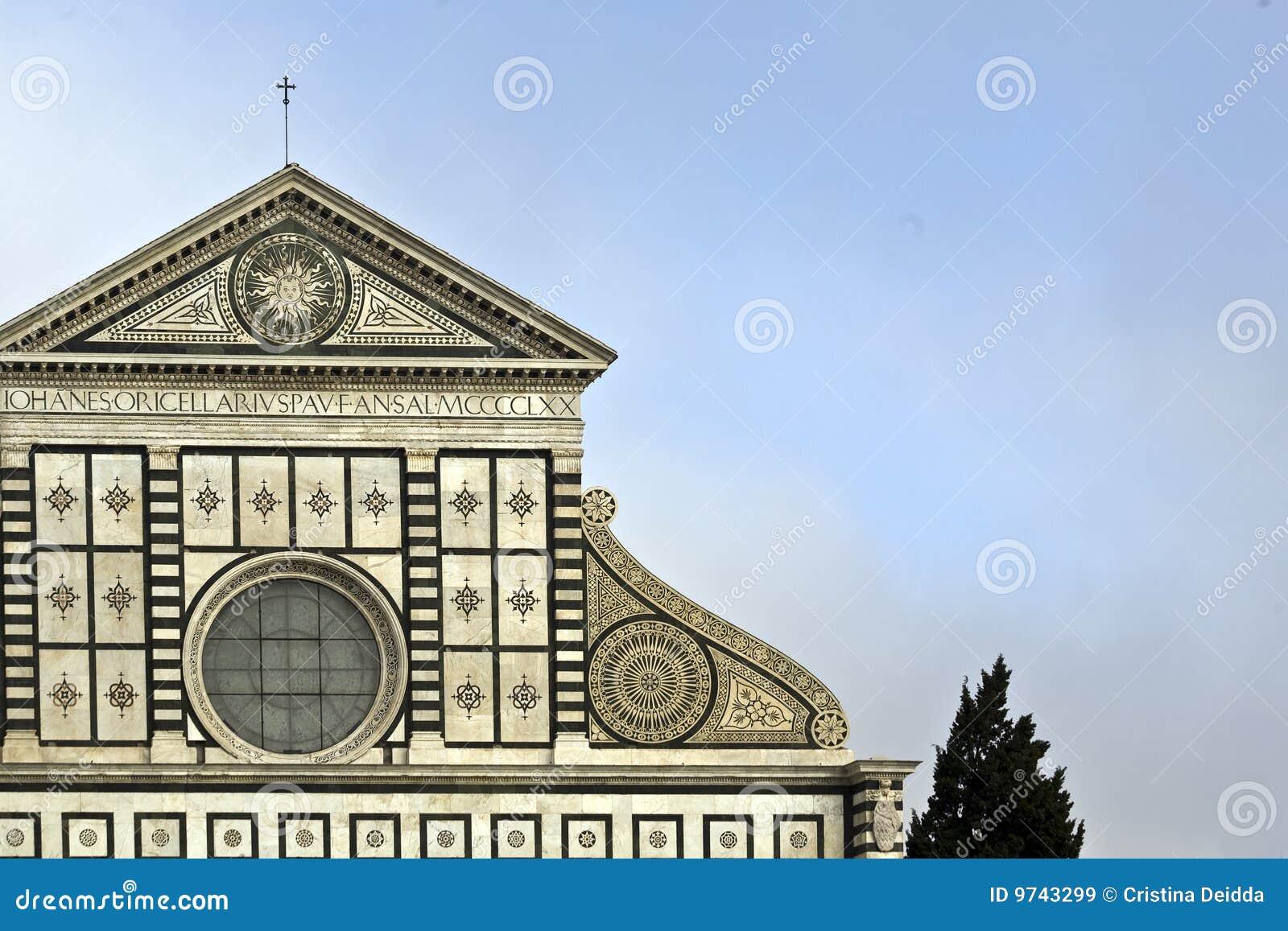 La iglesia de la novela corta del S. Maria