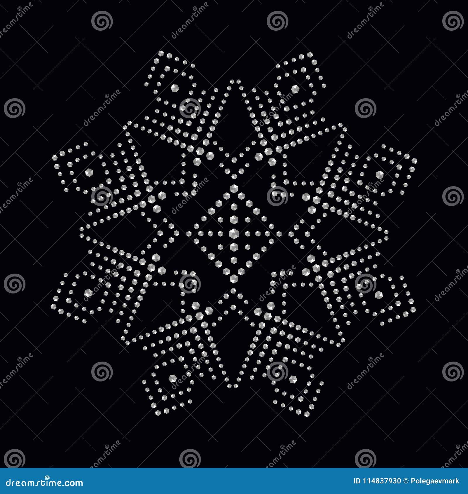 La impresión del applique del diamante artificial para la materia textil viste en lujo de la moda