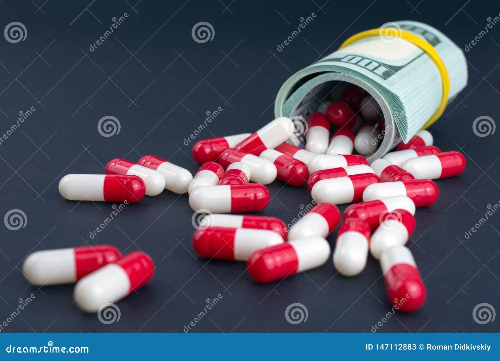 La industria farmacéutica consigue alta en beneficios gordos