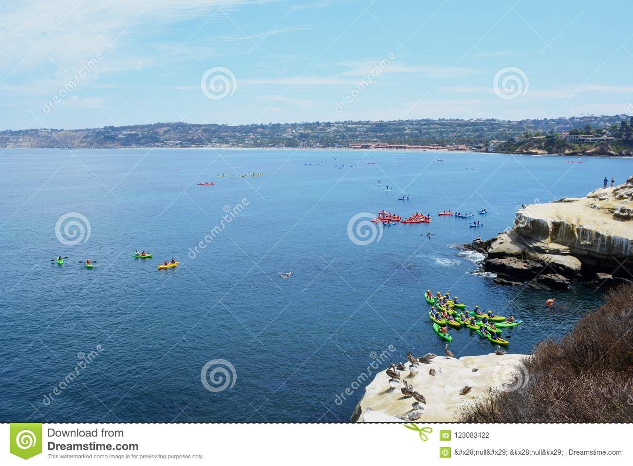 La Jolla Cove kayak tours