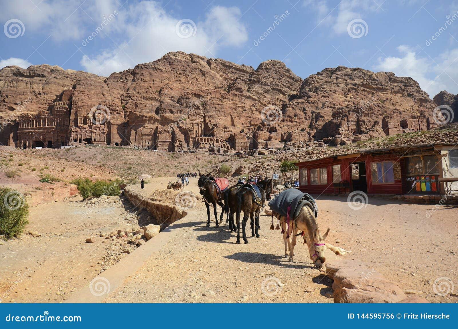 La Jordanie, Moyen-Orient, PETRA antique