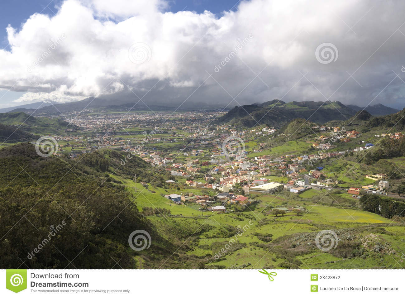 la laguna from jardina stock photography image 28423872