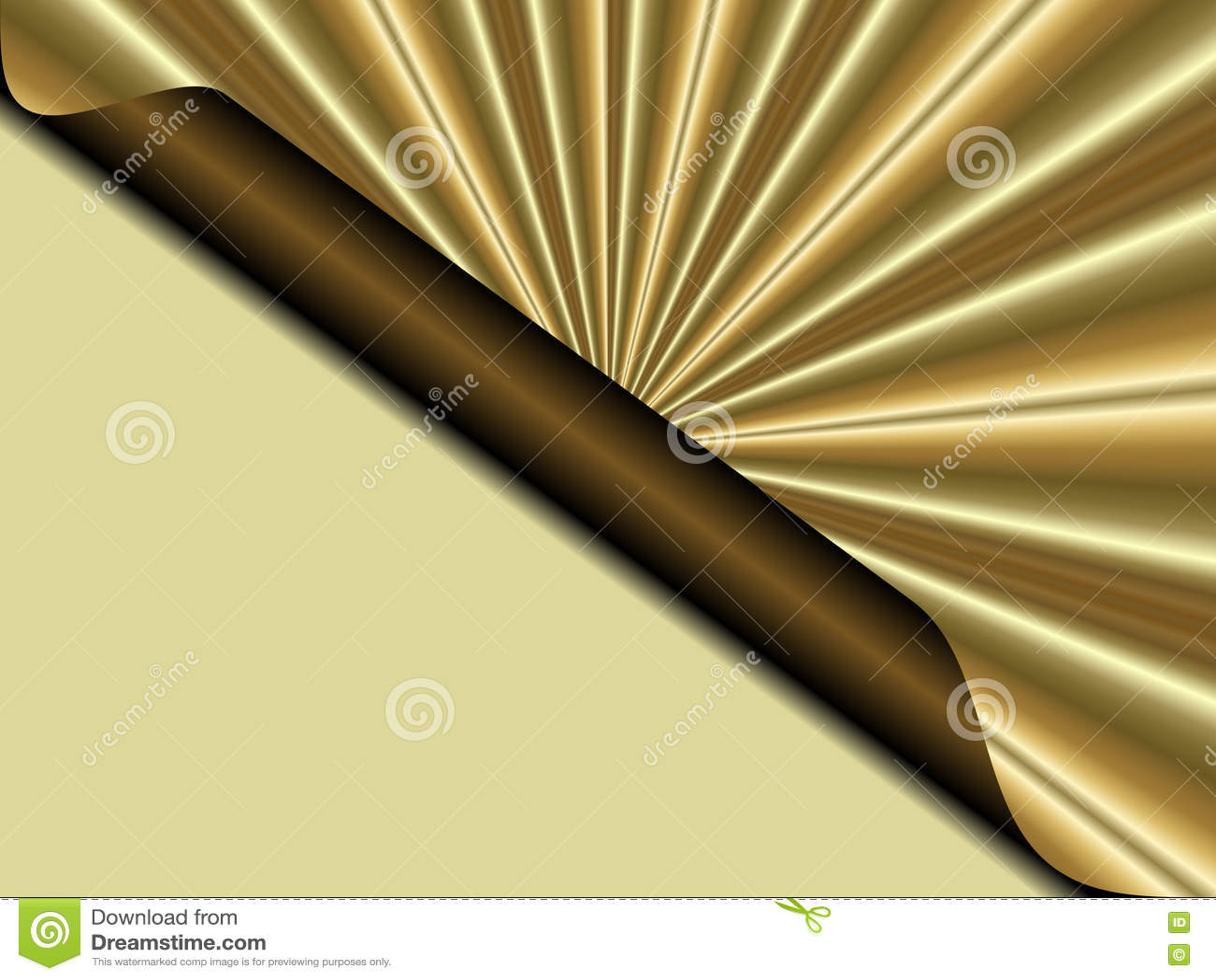 La lettera dorata gradisce il fondo di Natale e struttura