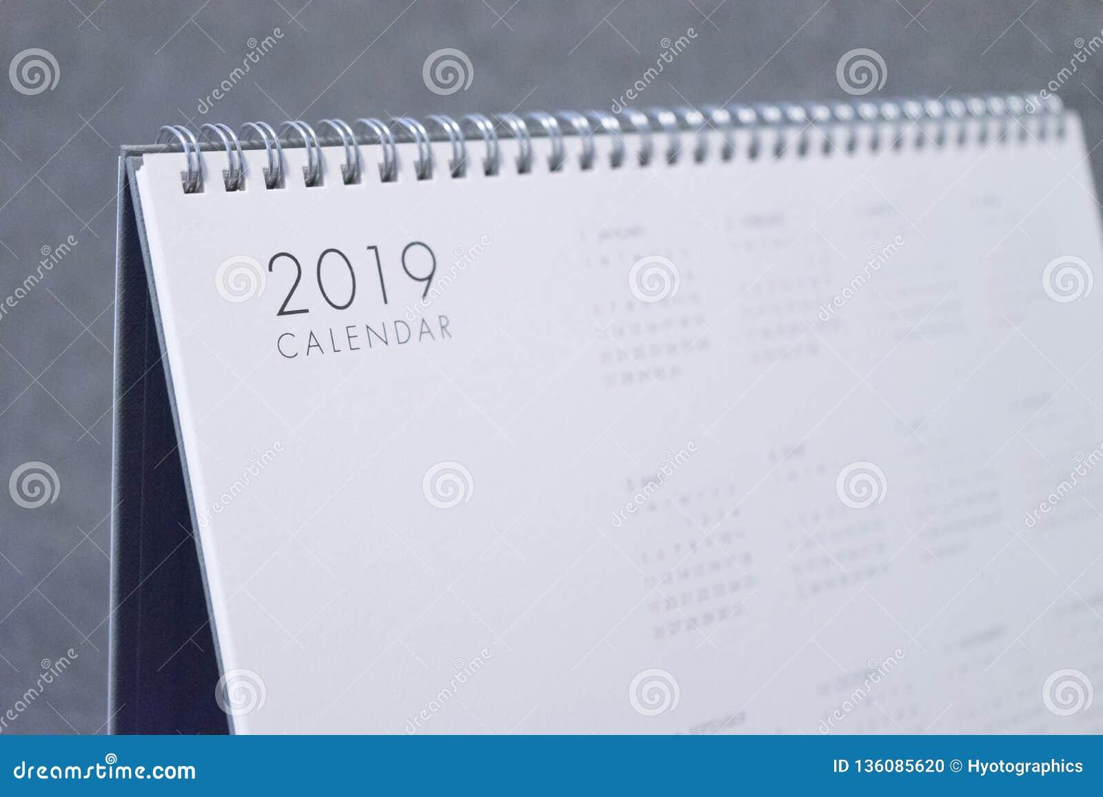 La lettre 2019 sur le calendrier