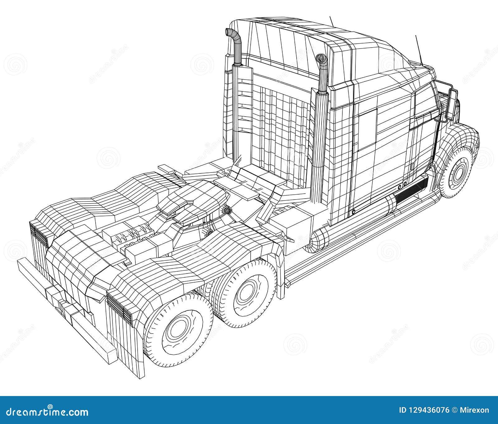 La livraison commerciale Illustration de découverte de 3d Format de vecteur d ENV 10 d isolement sur le blanc