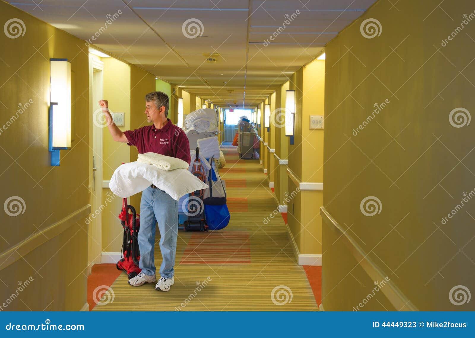 La livraison fonctionnante de personnel d 39 h tel d 39 quipage de nettoya - Nettoyage chambre hotel ...