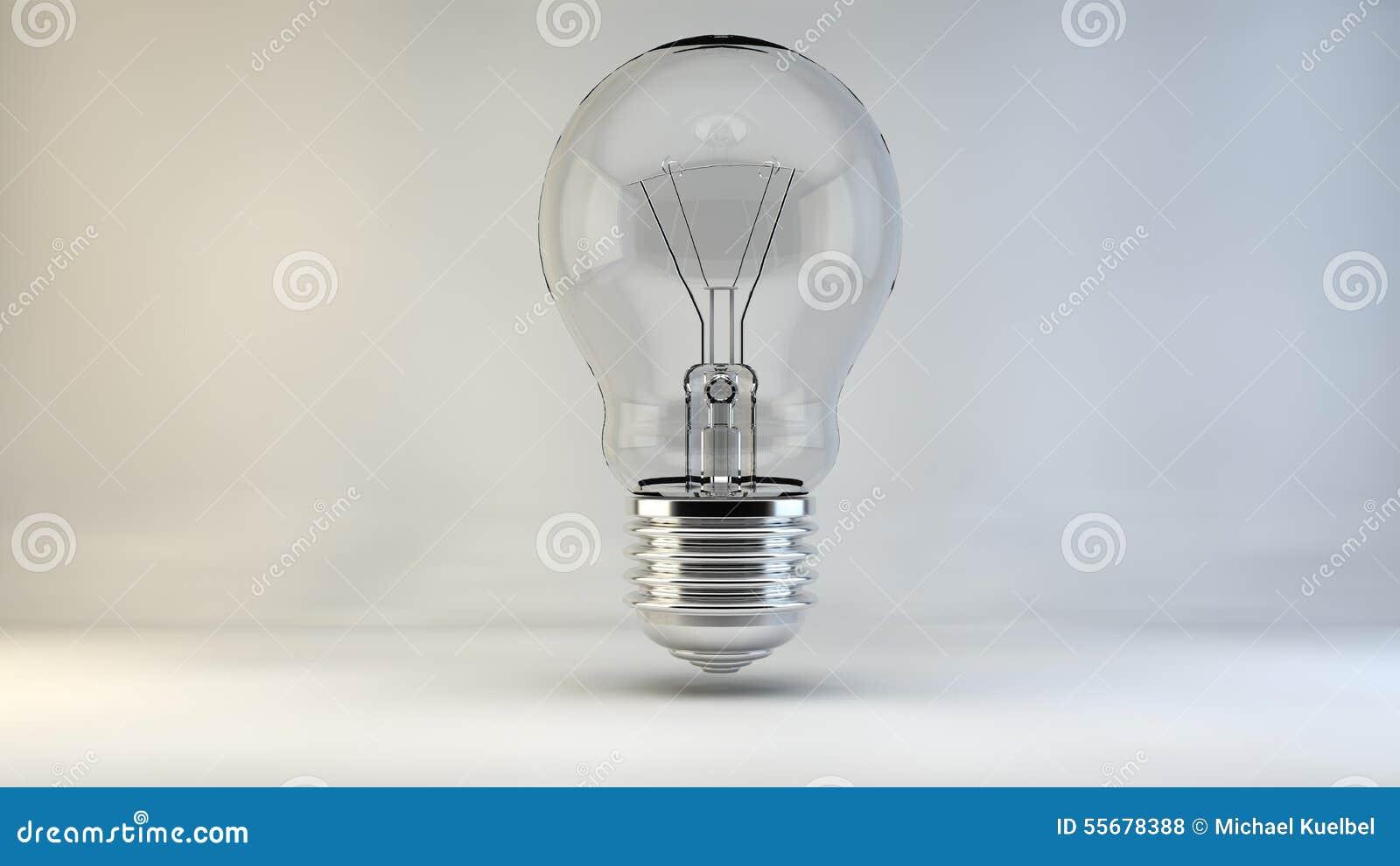 La lumi re de lampe d 39 id e d 39 ampoule allume l 39 incident - Allume la lumiere ...