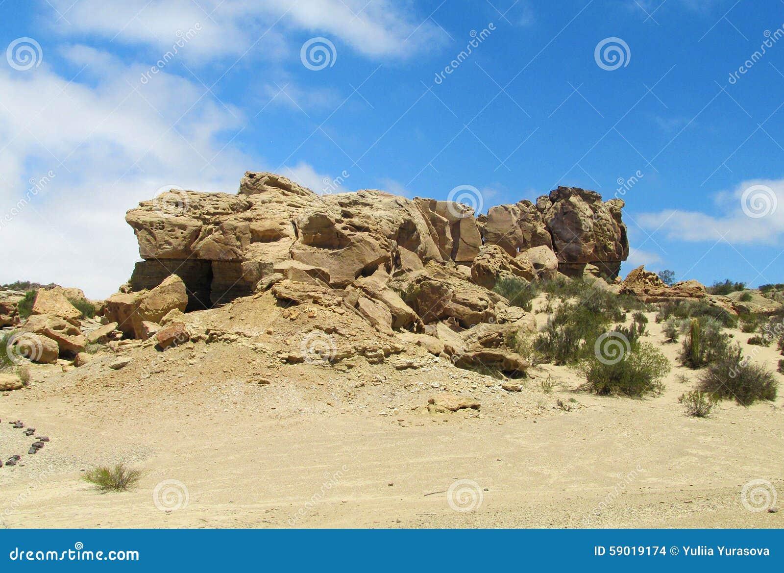 La Luna (Ischigualasto), Argentine de Valle De de formations de roche