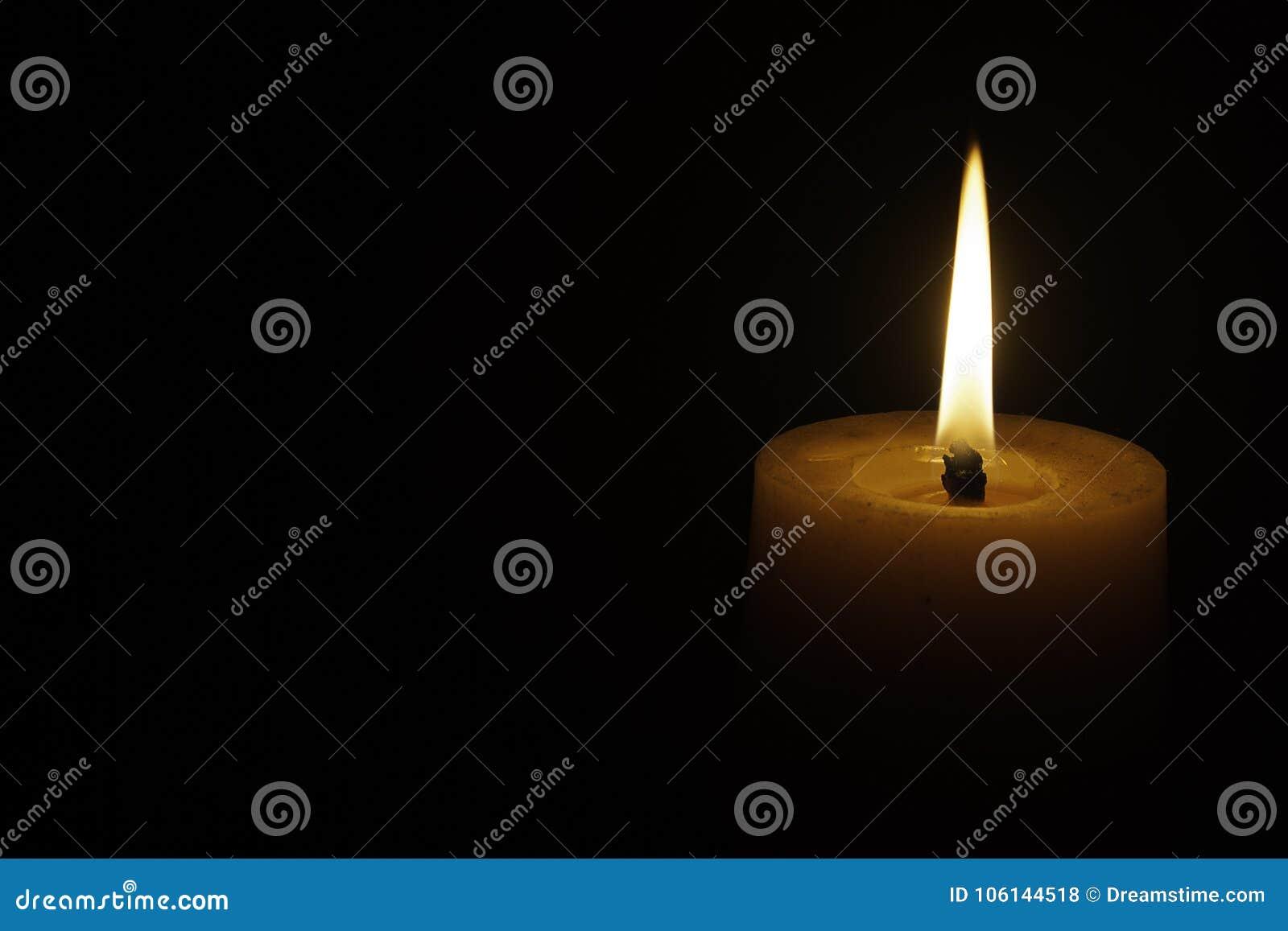 La luz de la vela