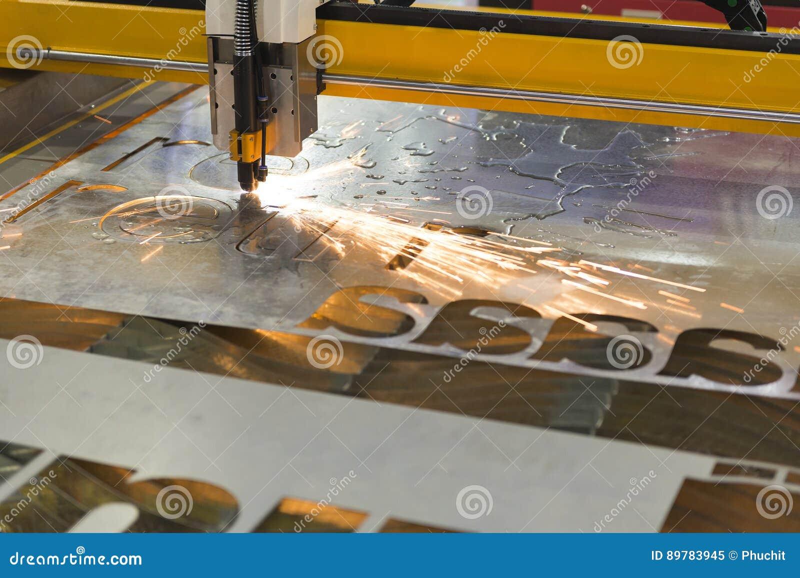La máquina del corte del laser del CNC