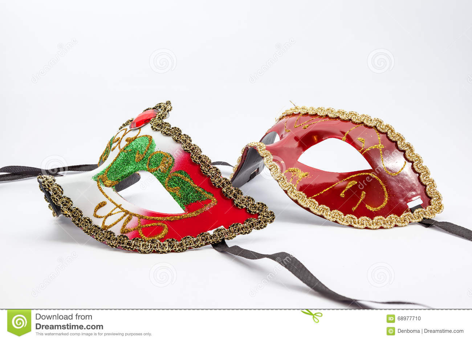 La máscara del carnaval
